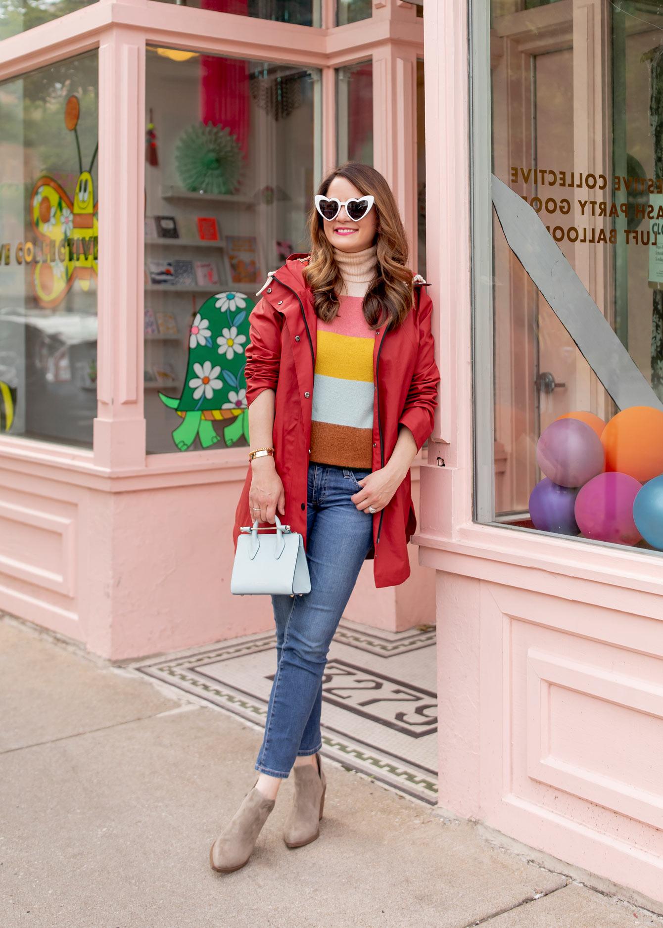 Pendleton Red Raincoat