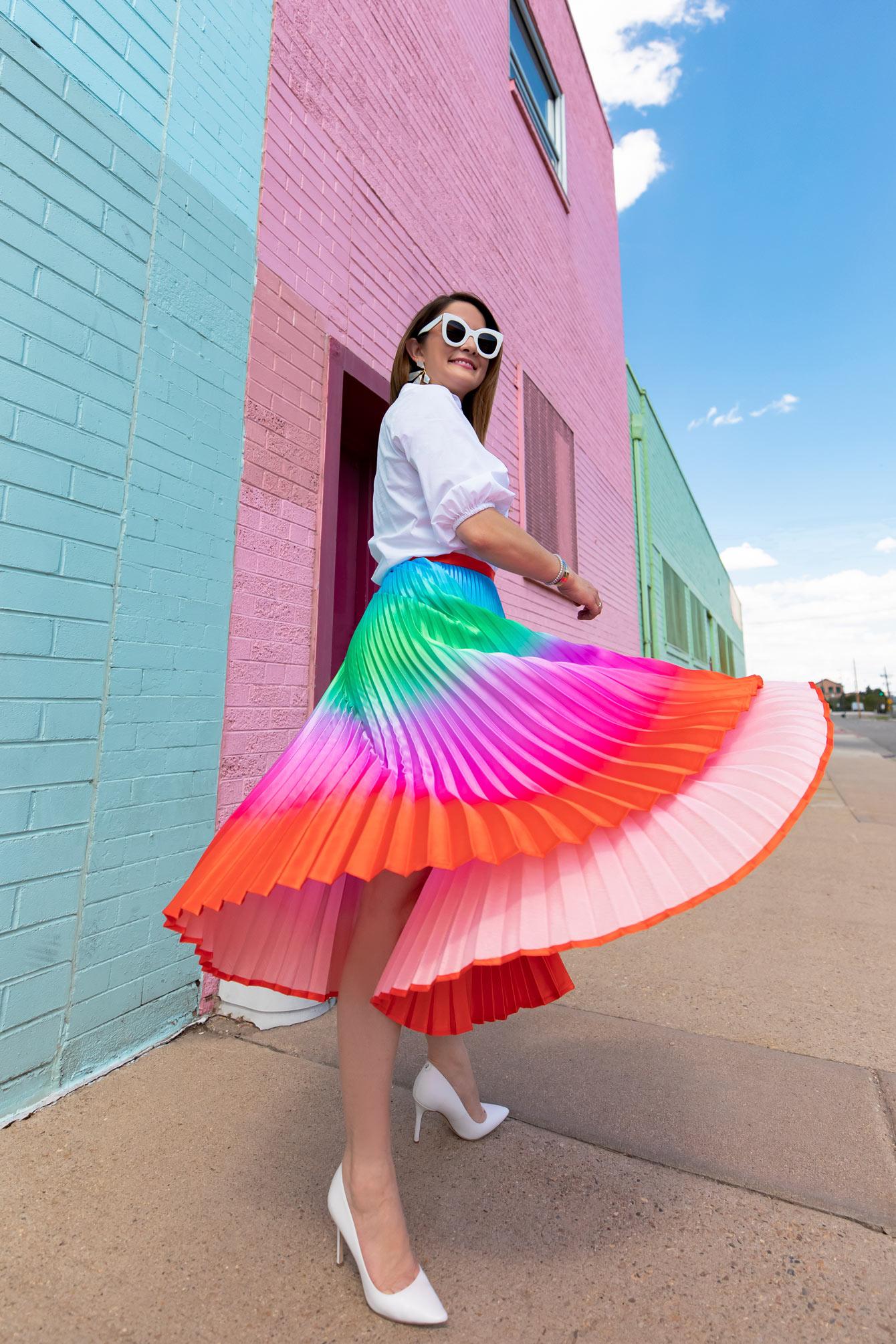 Style Charade Skirt Flip