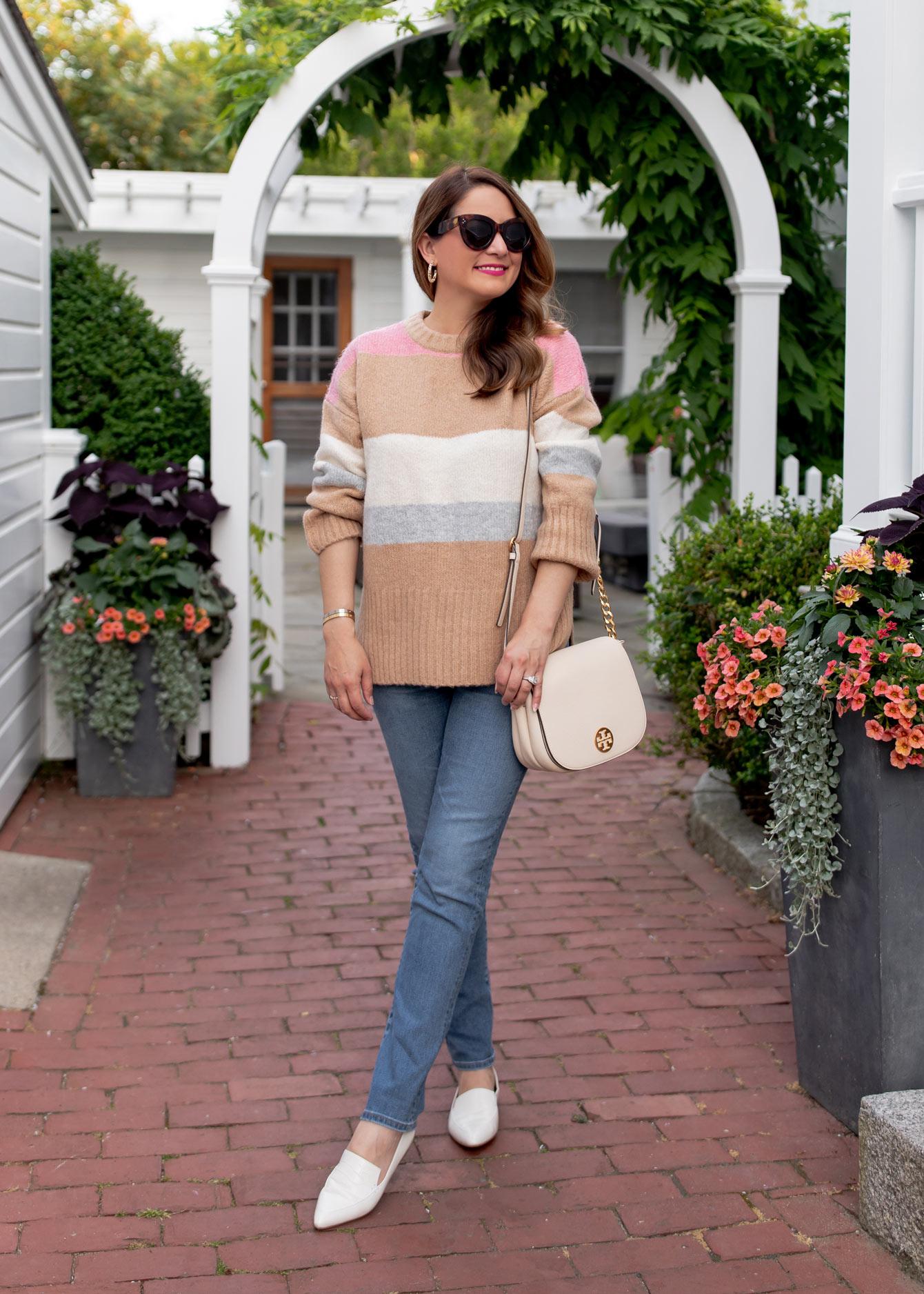 TOPSHOP Stripe Sweater Nordstrom Sale