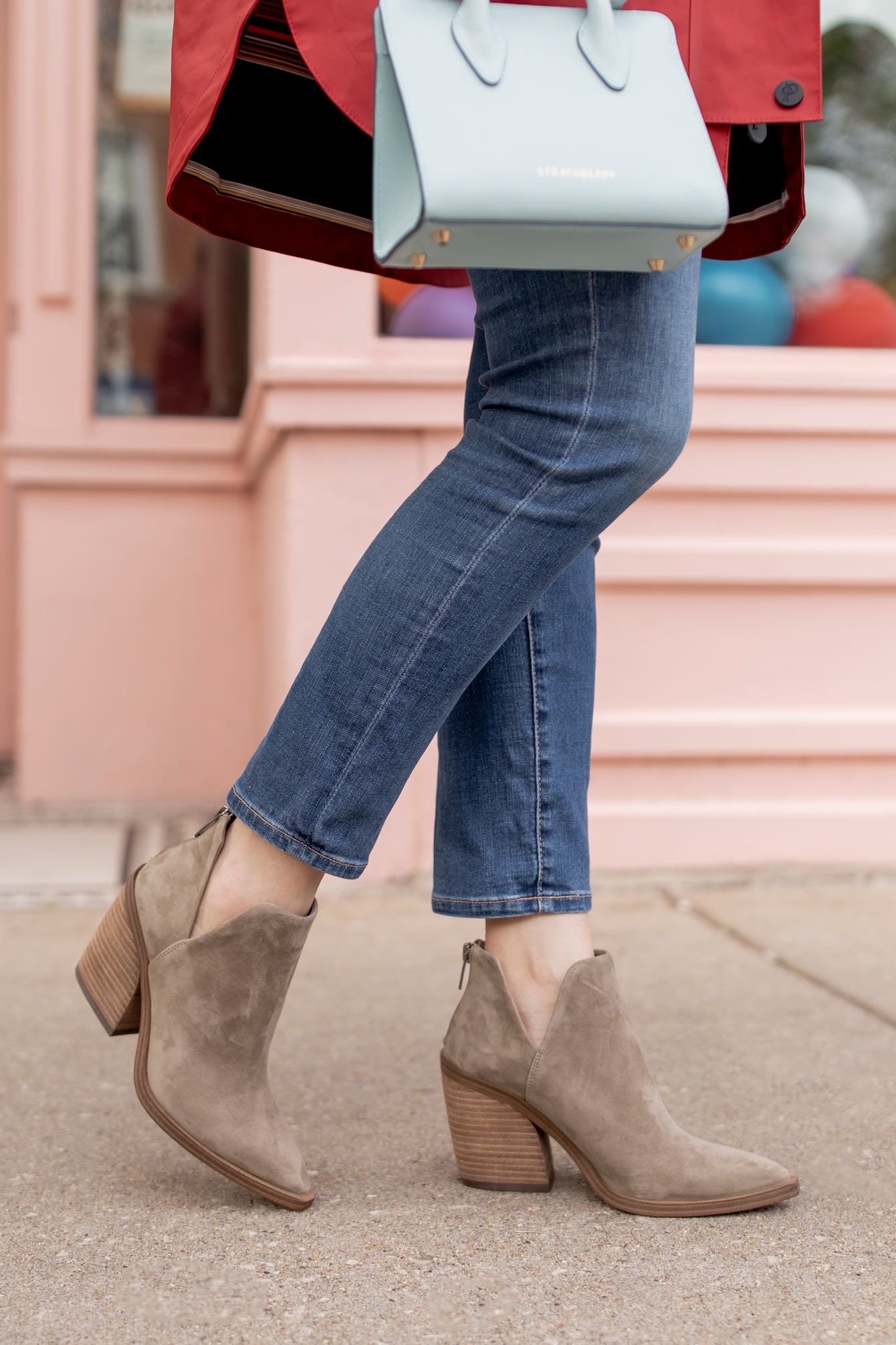 Vince Camuto Taupe Bootie Nordstrom Anniversary Sale