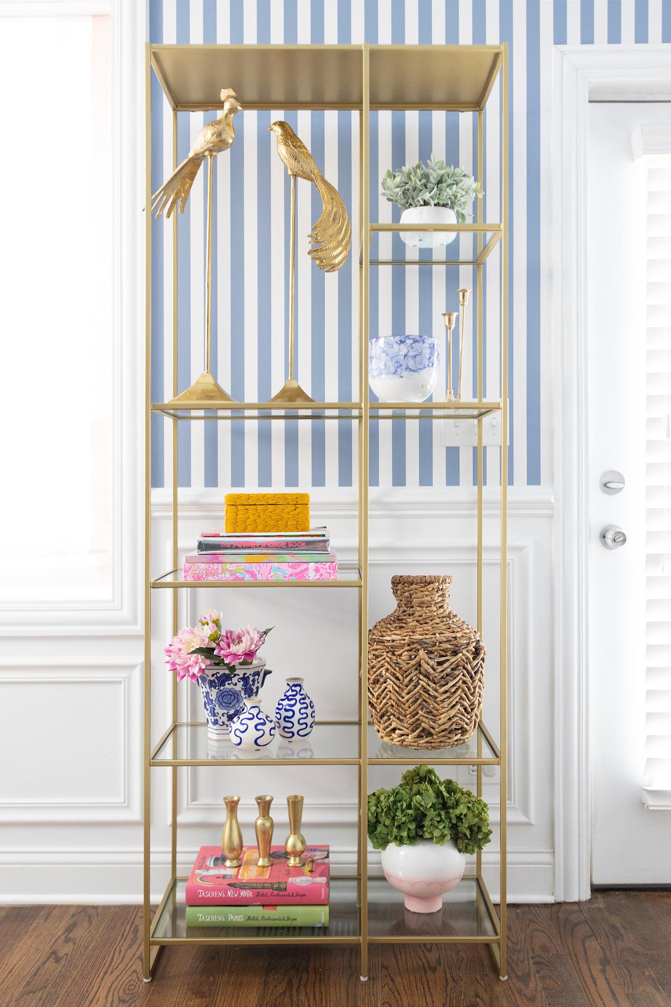 Crate and Barrel Estelle Shelves