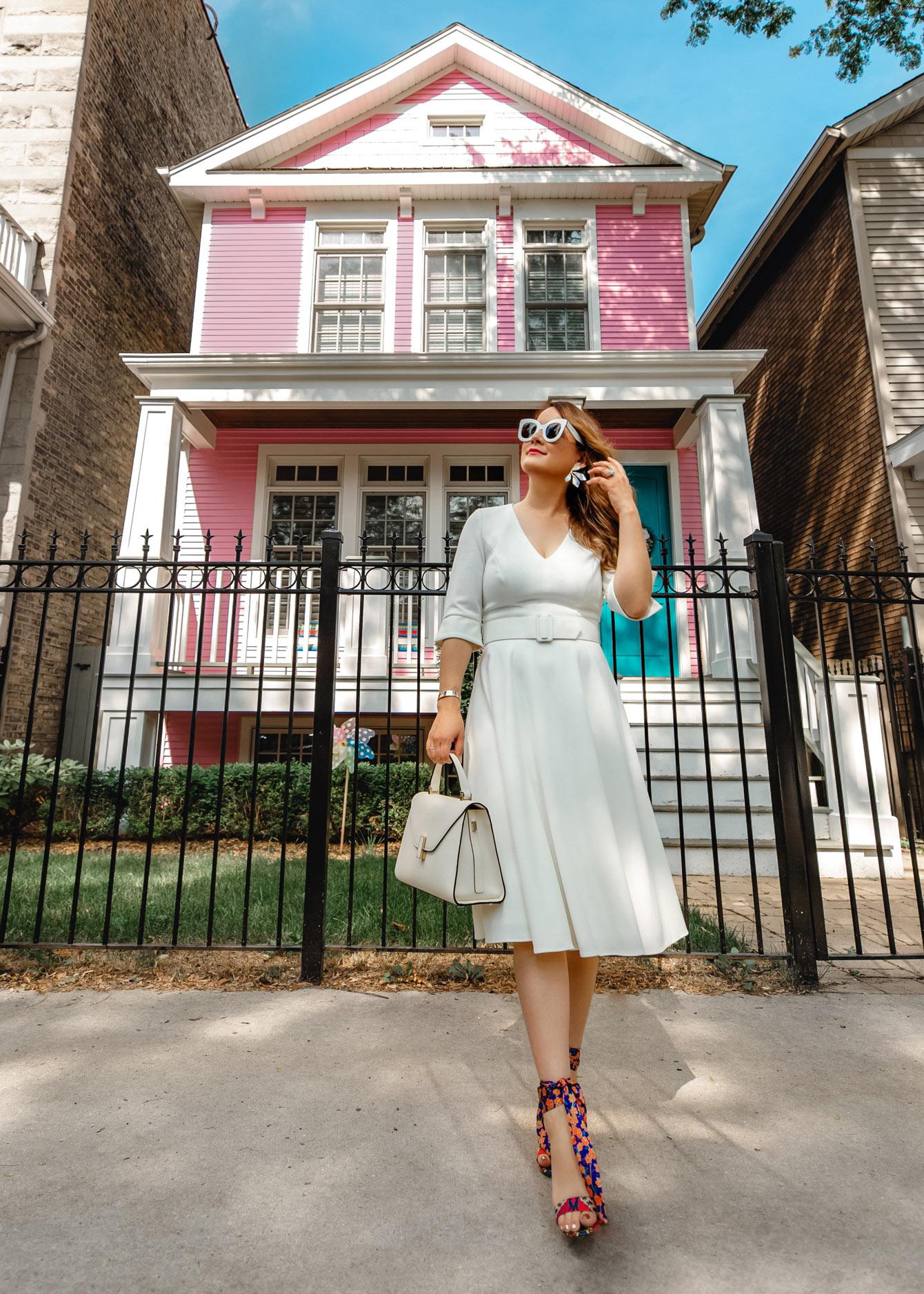 Jennifer Lake Pink House