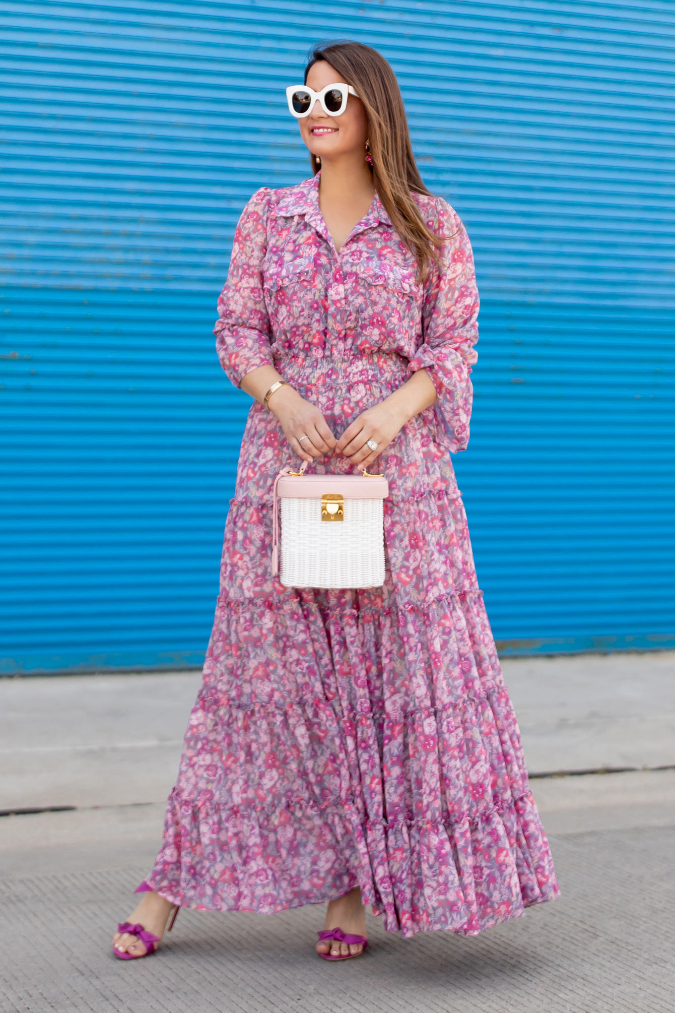 MISA Los Angeles Floral Maxi Dress