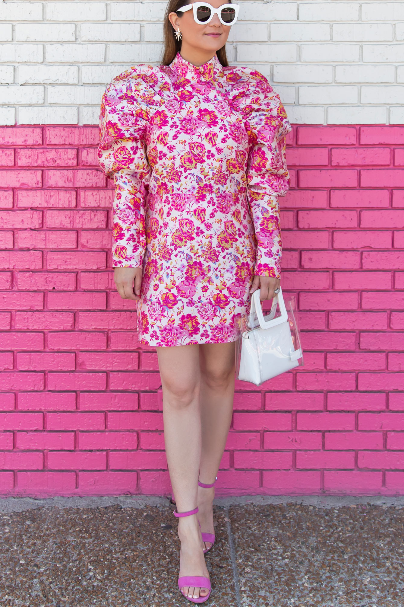 Rotate Birger Christensen Floral Dress