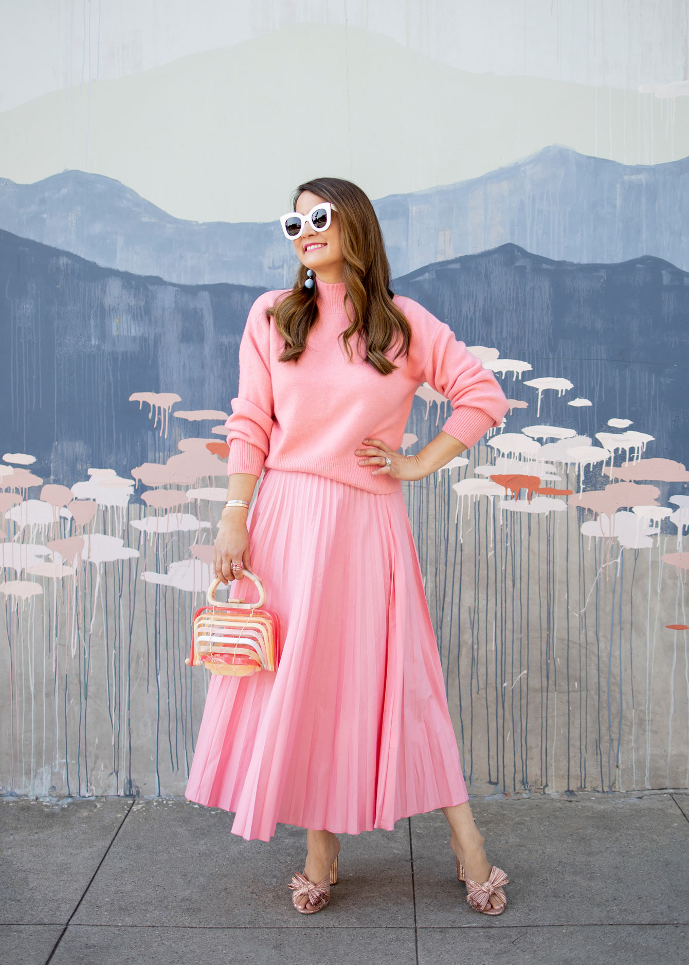 Affordable Monochrome Pink Outfit