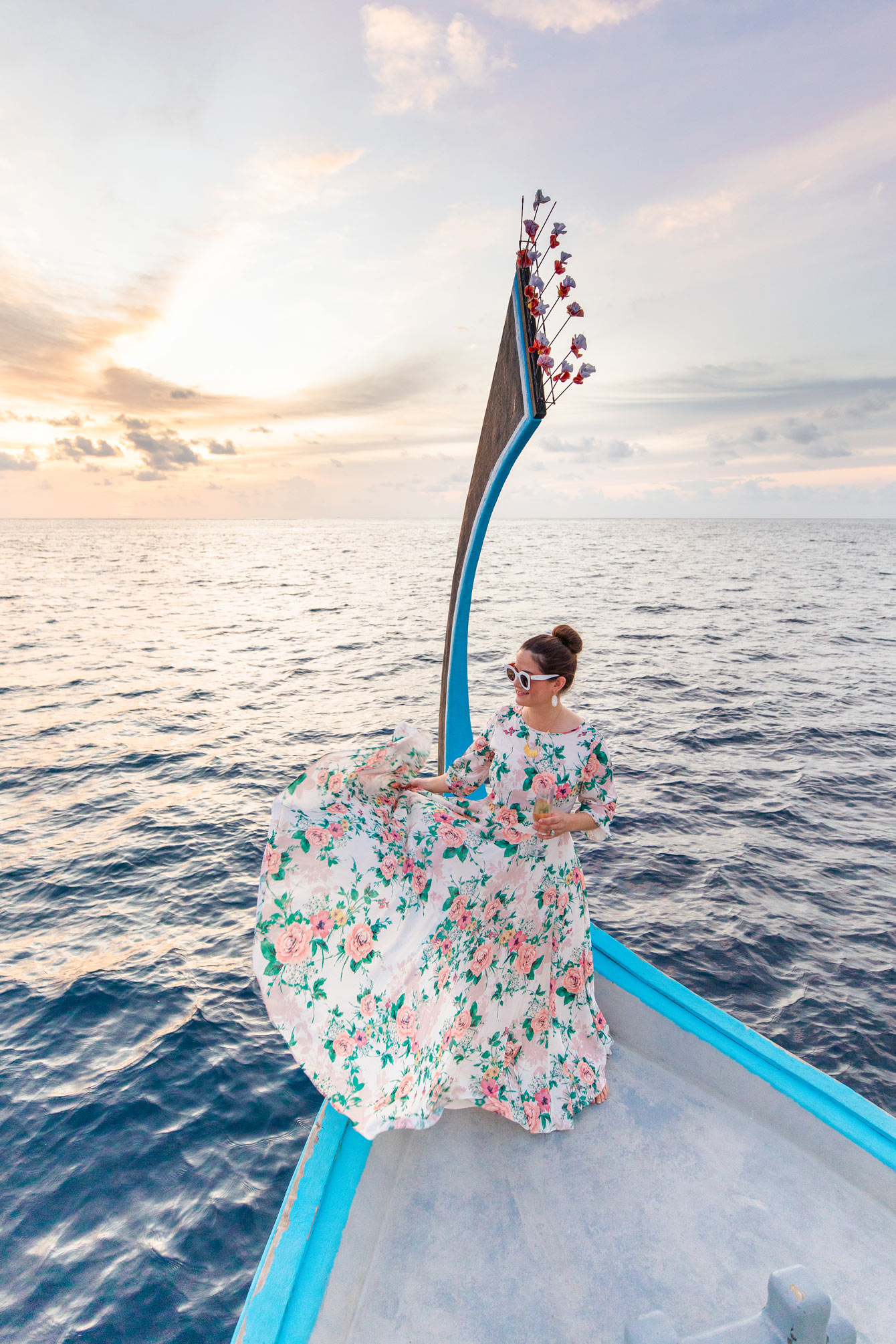 Jennifer Lake Maldives Yumi Kim Woodstock Dress