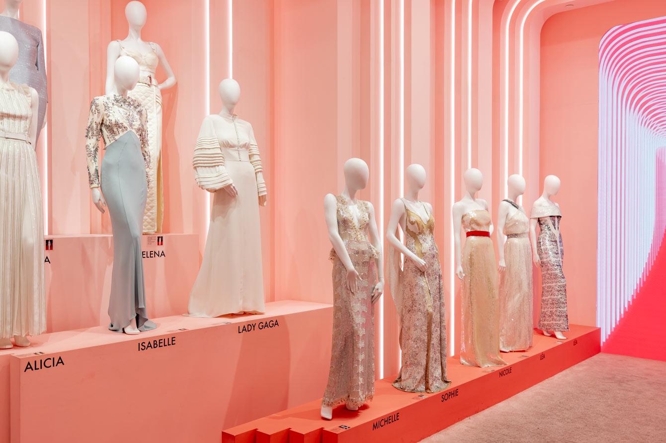 Louis Vuitton Red Carpet Dresses