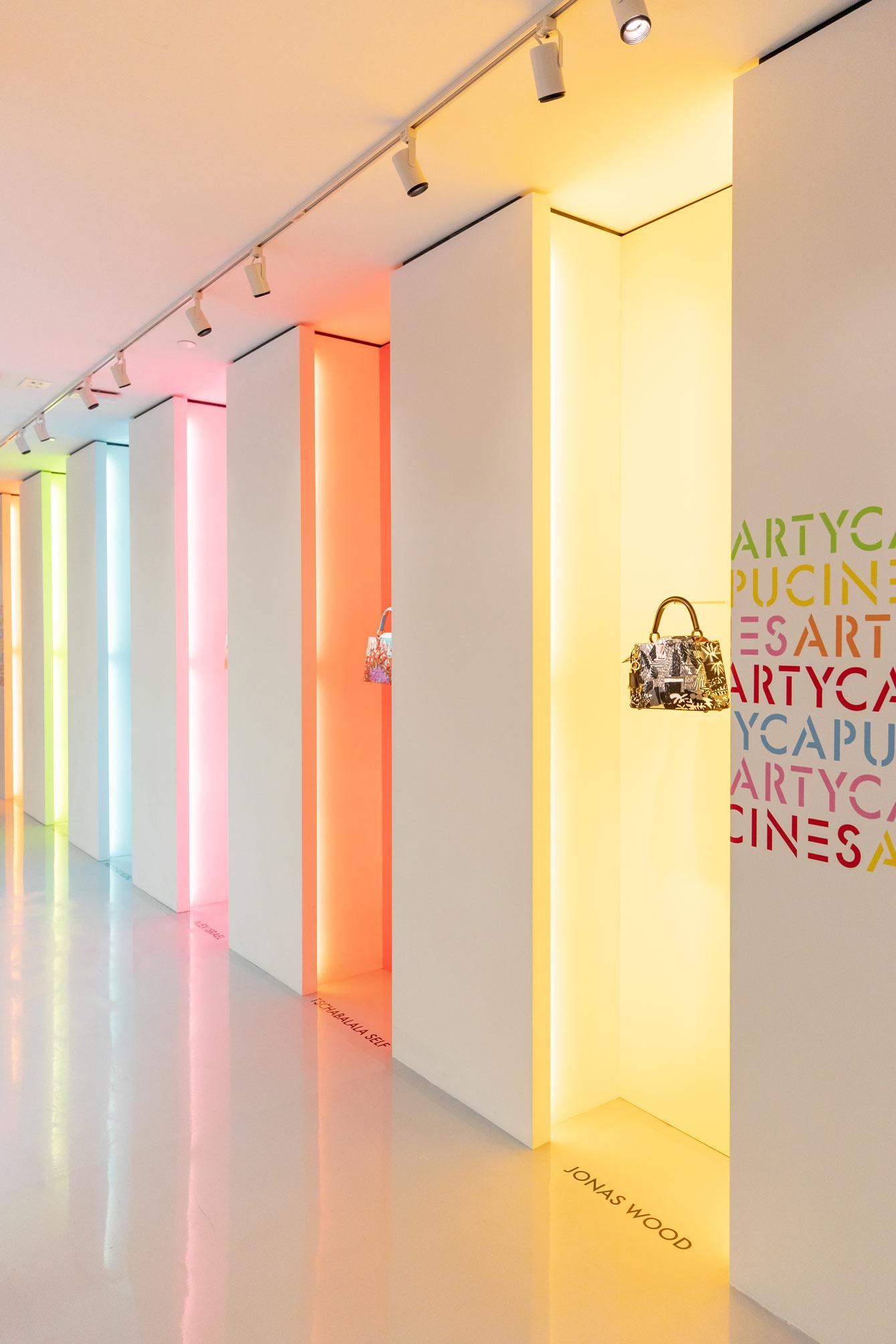 Louis Vuitton X ArtyCapucines