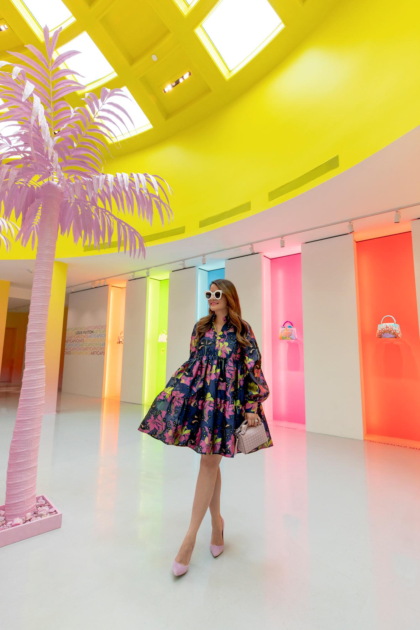 Louis Vuitton X Installation Beverly Hills