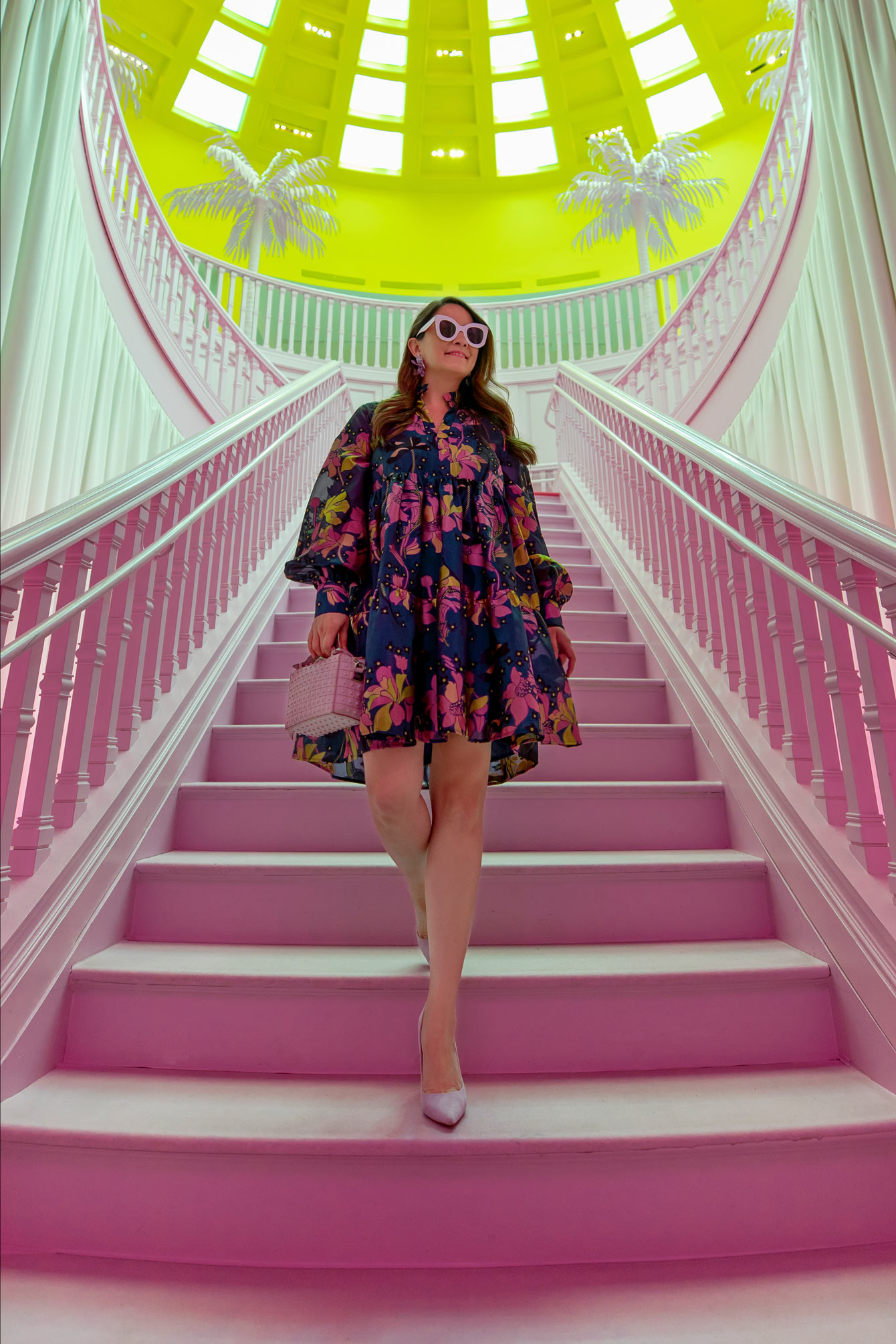 Louis Vuitton X Pink Staircase