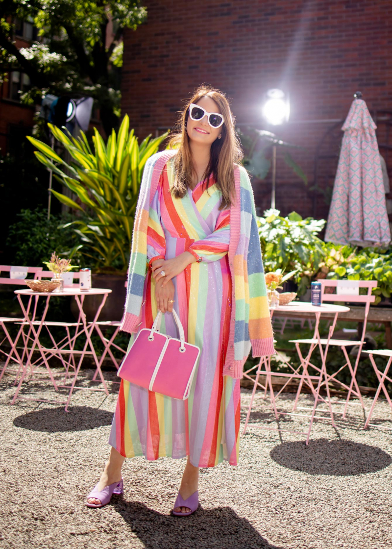 Olivia Rubin Rainbow Dress