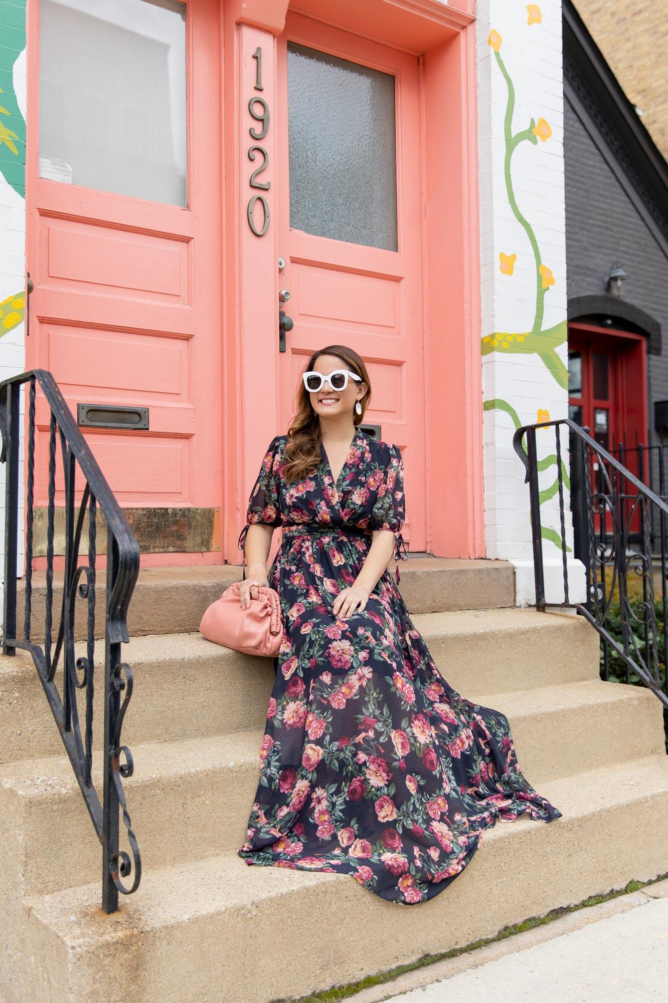 Gal Meets Glam Floral Maxi Dress