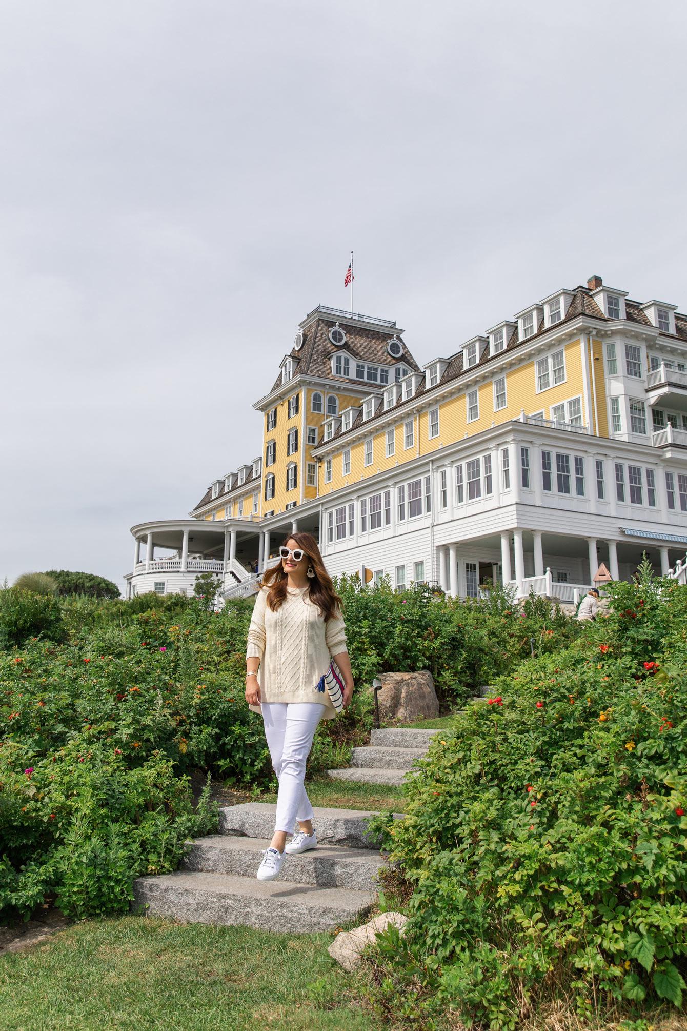 Jennifer Lake vineyard vines Ocean House