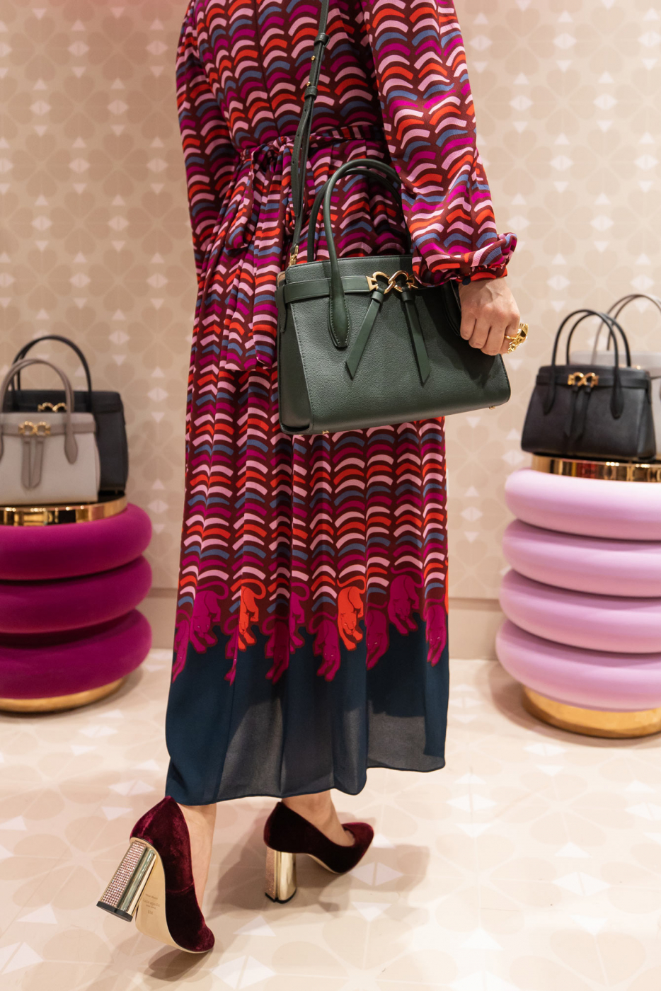 Kate Spade Hunter Green Bag