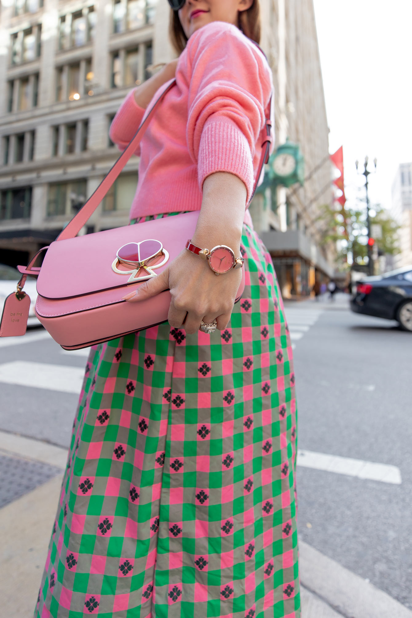Kate Spade Red Pink Watch