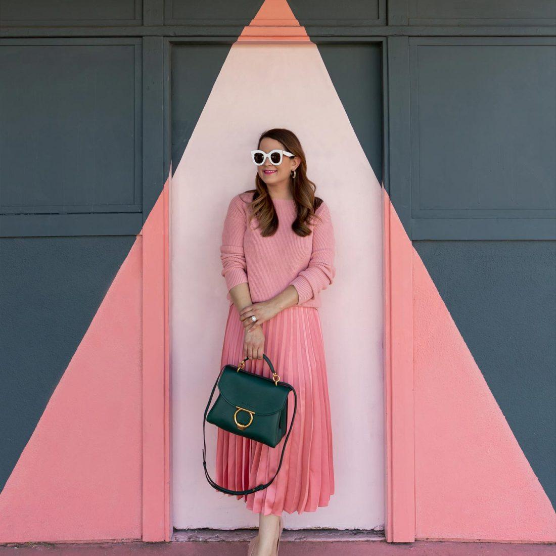 Pink Light Door Los Angeles