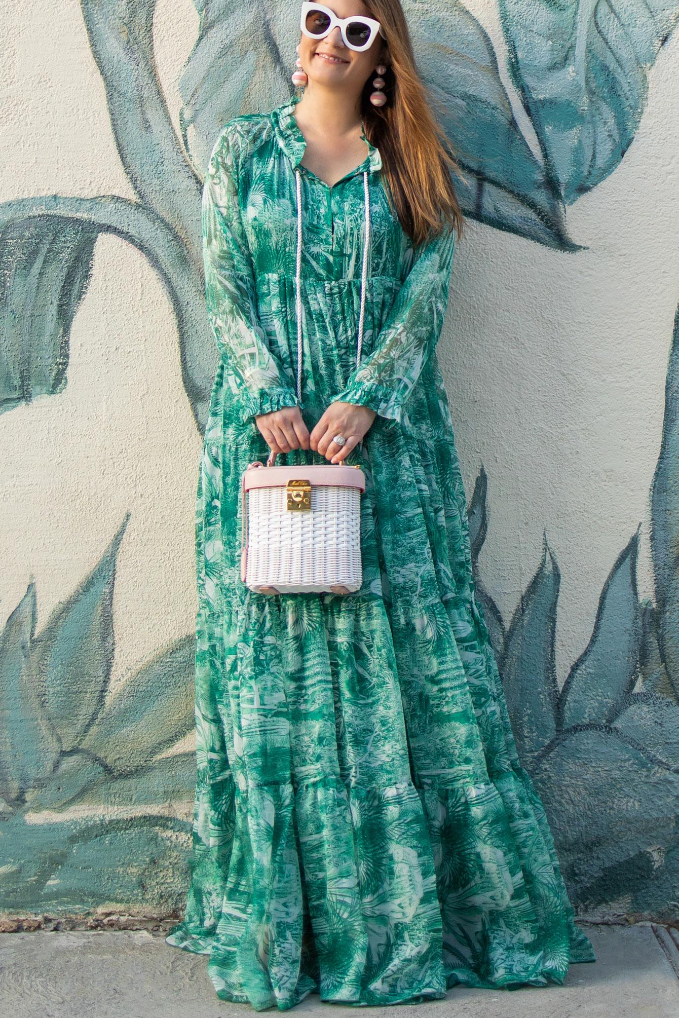 Shopbop Palm Print Dress