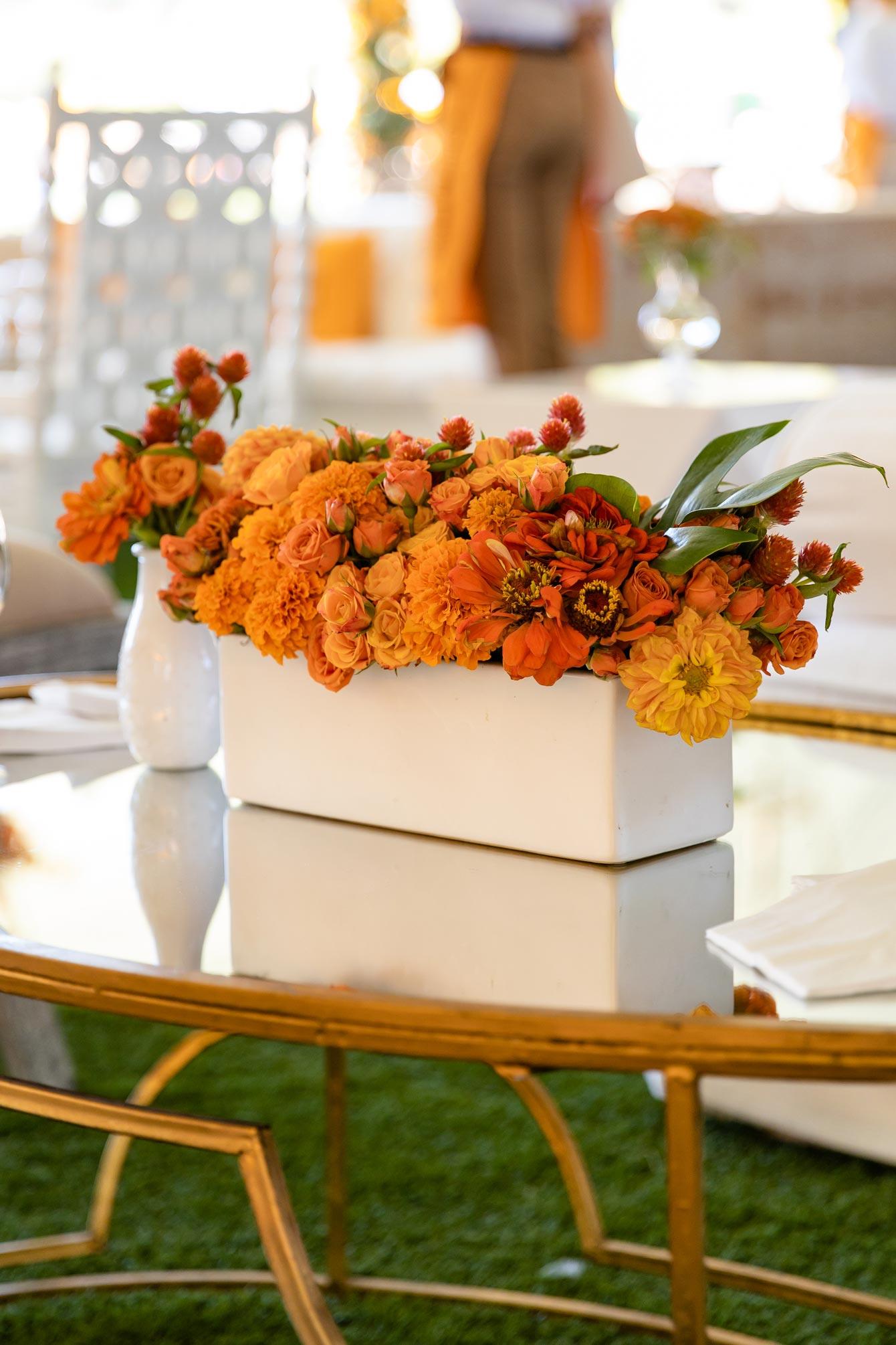 Veuve Clicquot Floral Attangements