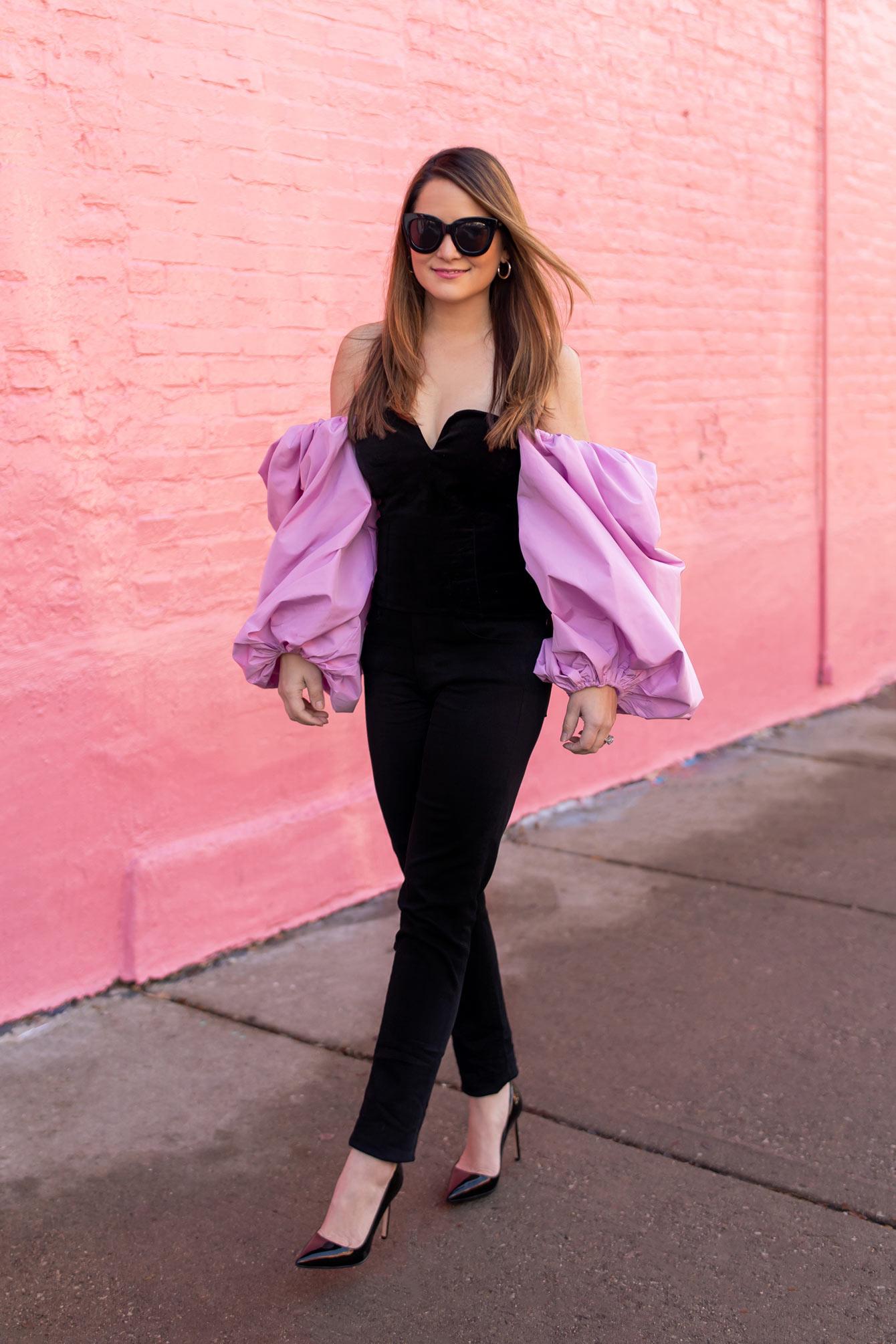 Zara Velvet Bustier