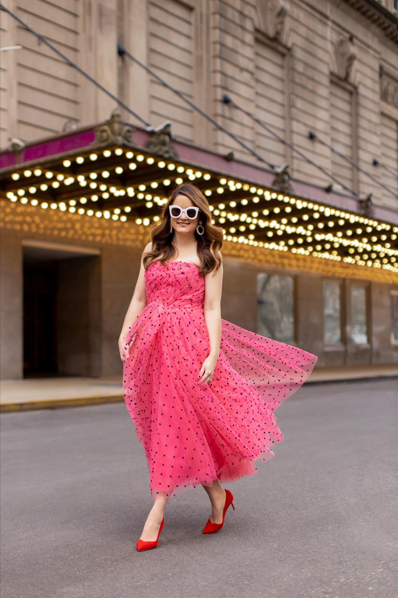 Carolina Herrera Velvet Heart Dress