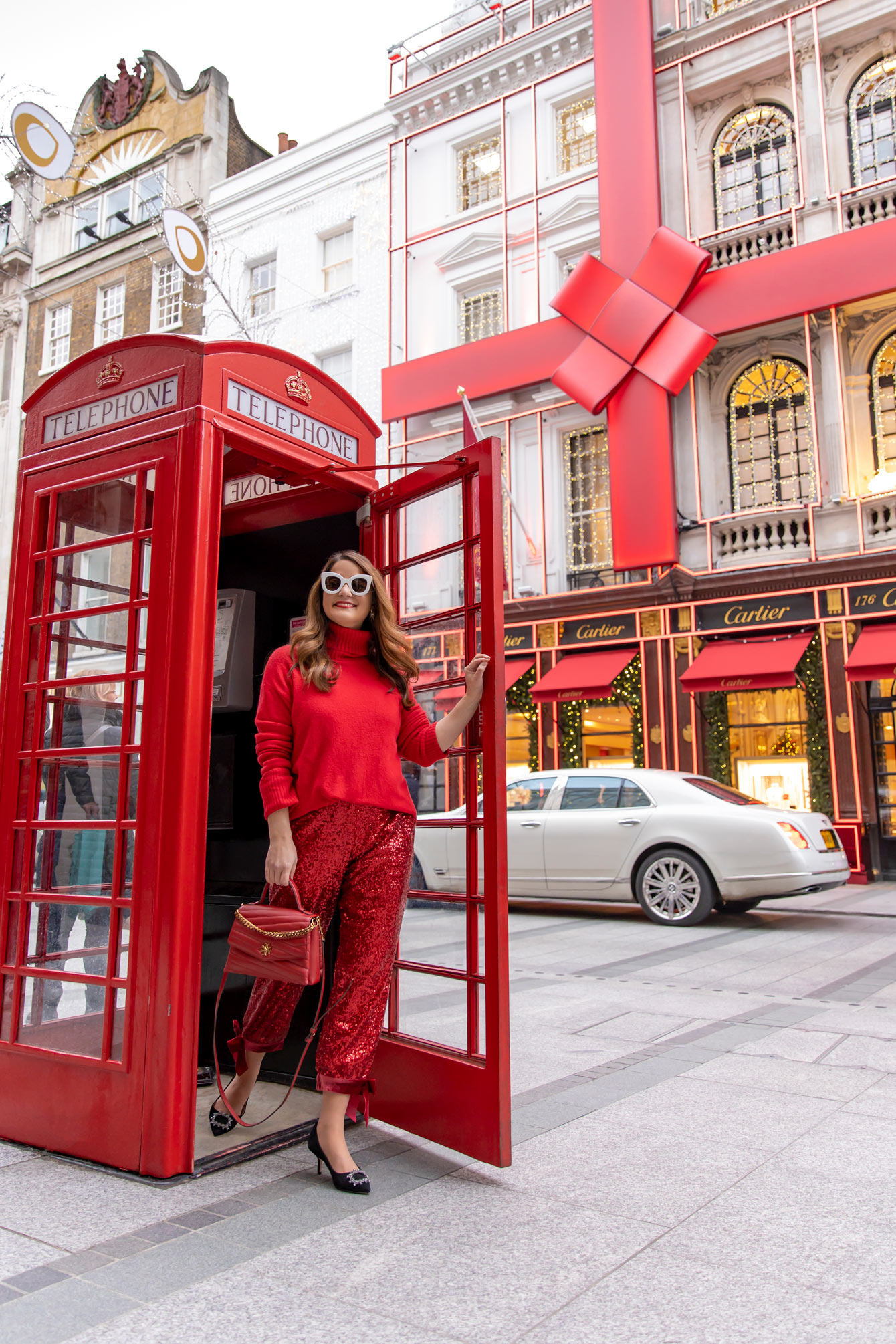 Cartier London Telephone Booth