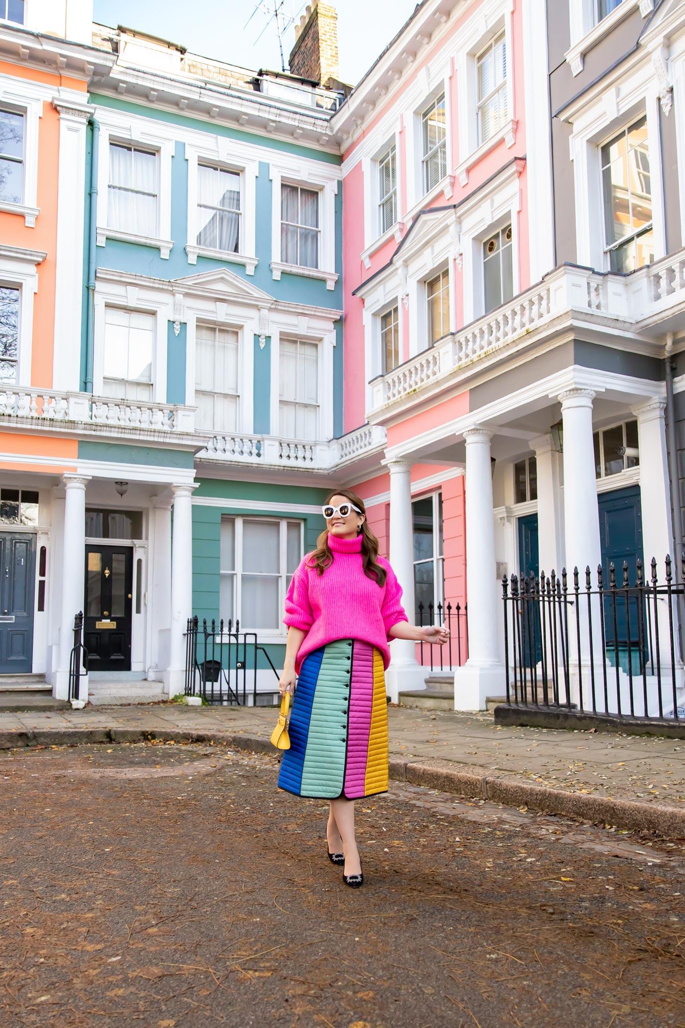 Colorful London Corner
