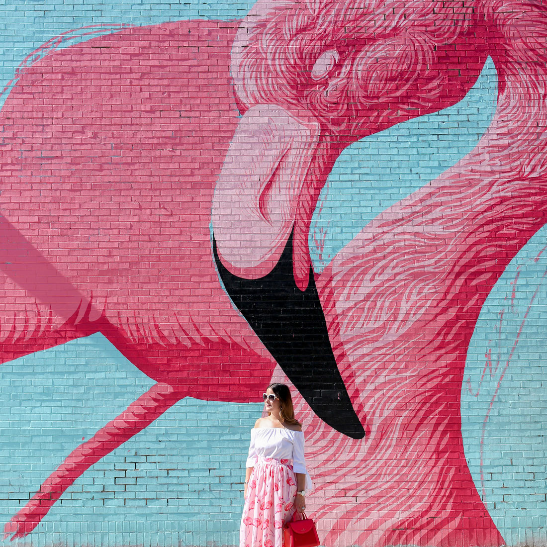 Flamingo Mural Chicago Ohio Street