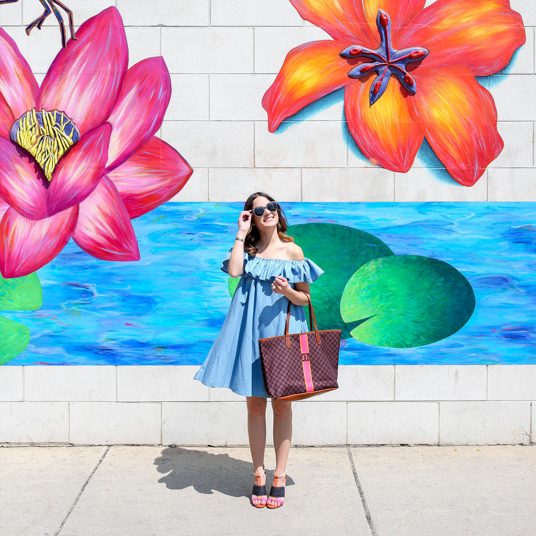Floral Mural Chicago Broadway Edgewater