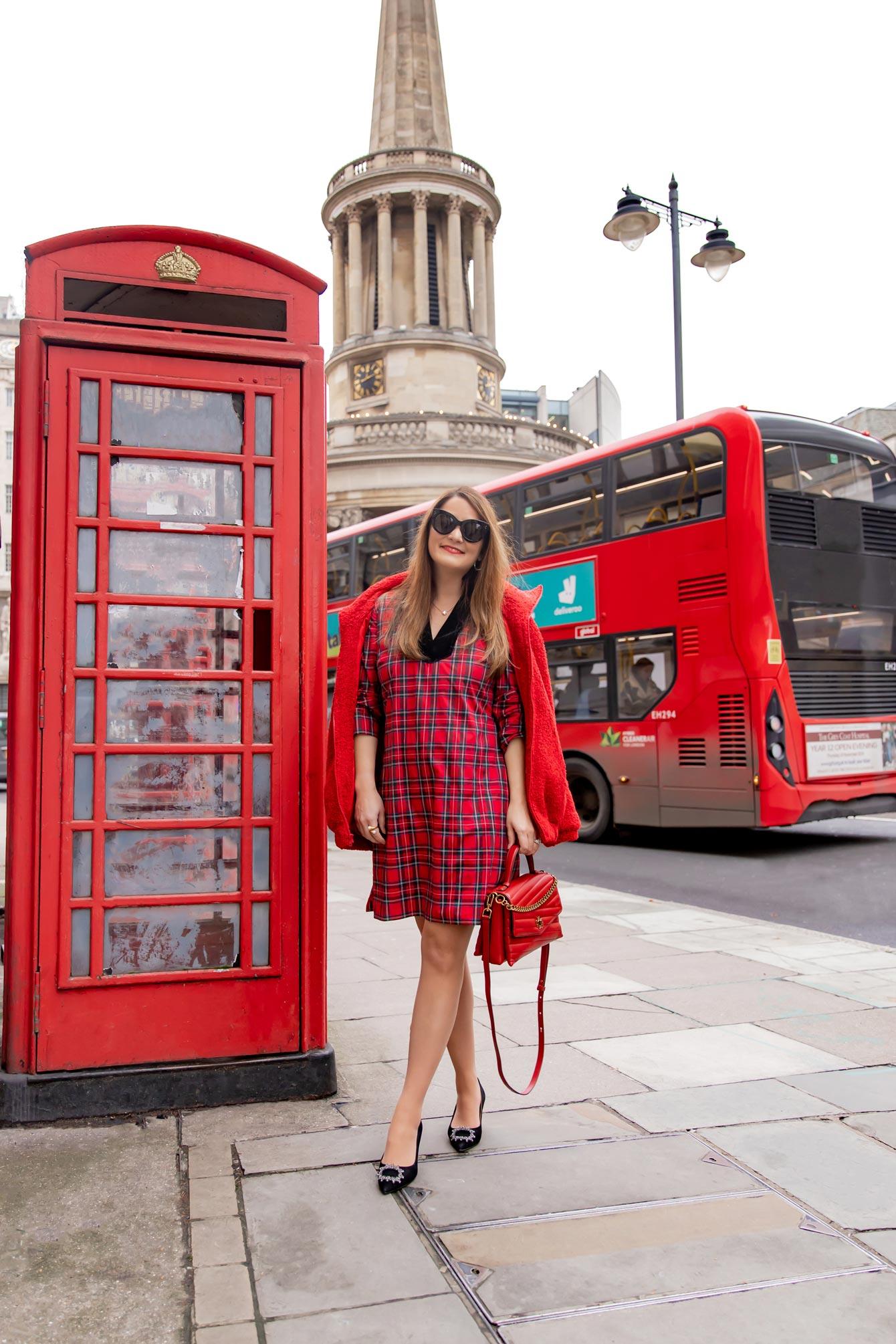 Jennifer Lake Tartan Dress London