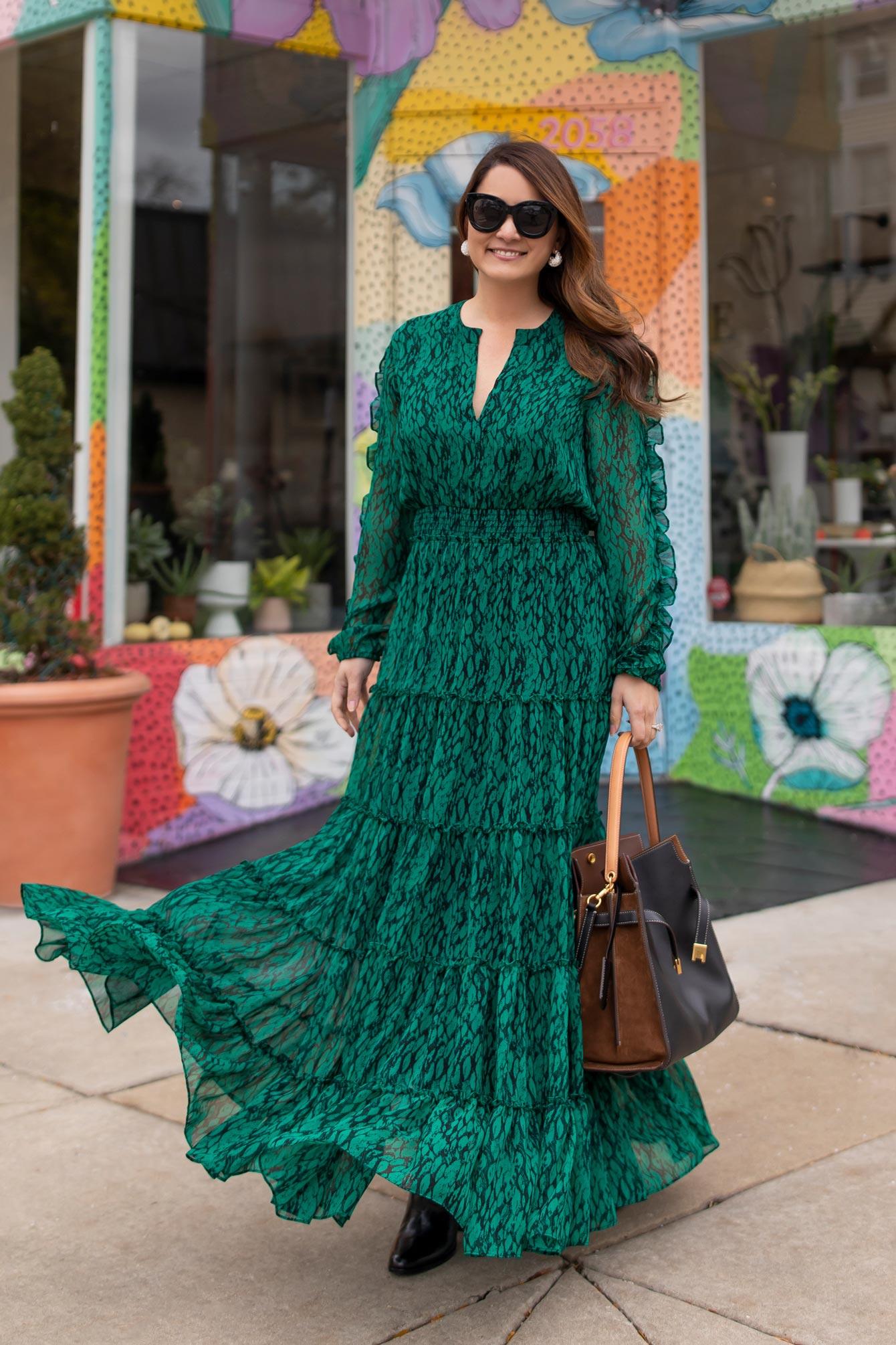 MISA Hadeya Maxi Dress