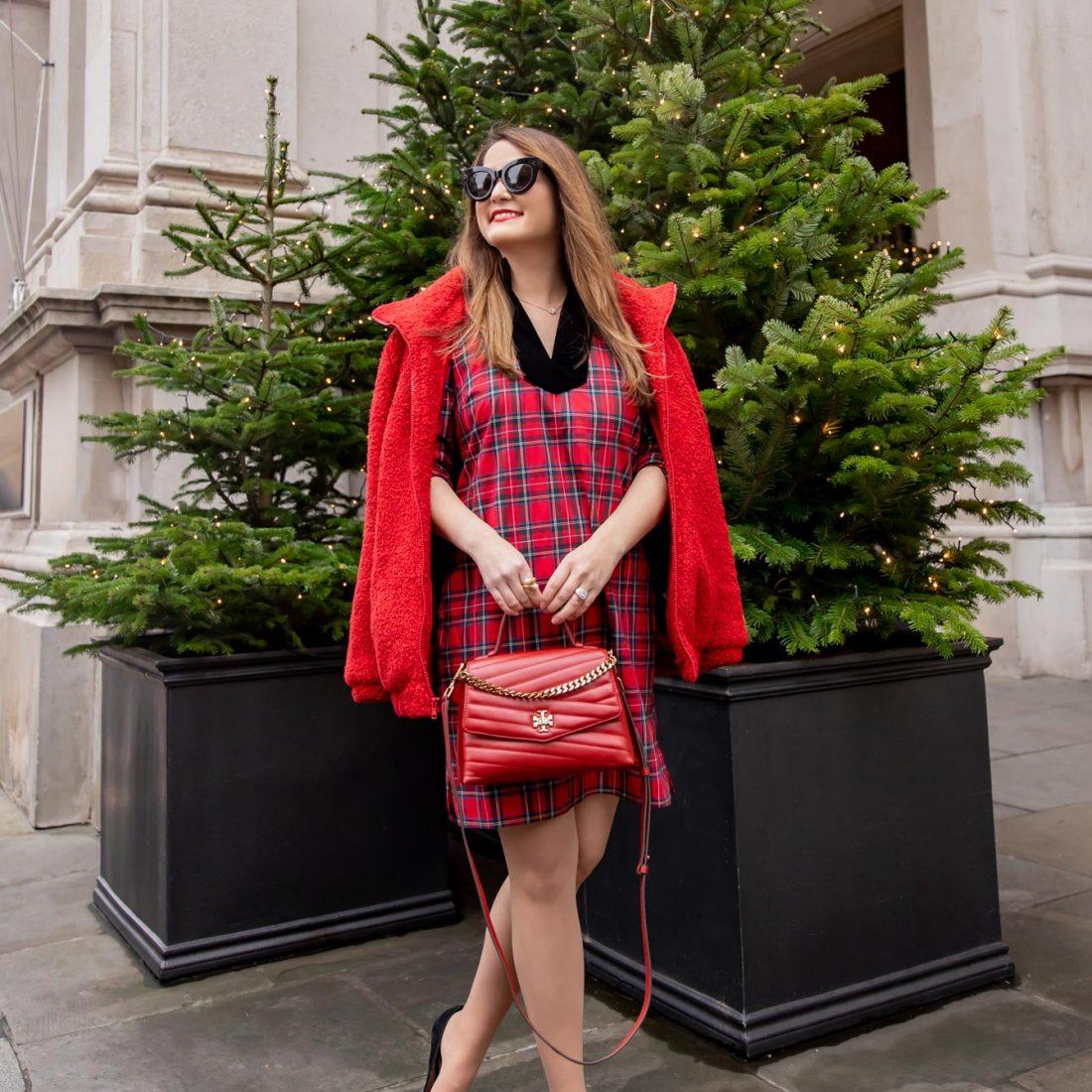 Red Tartan Tunic Dress