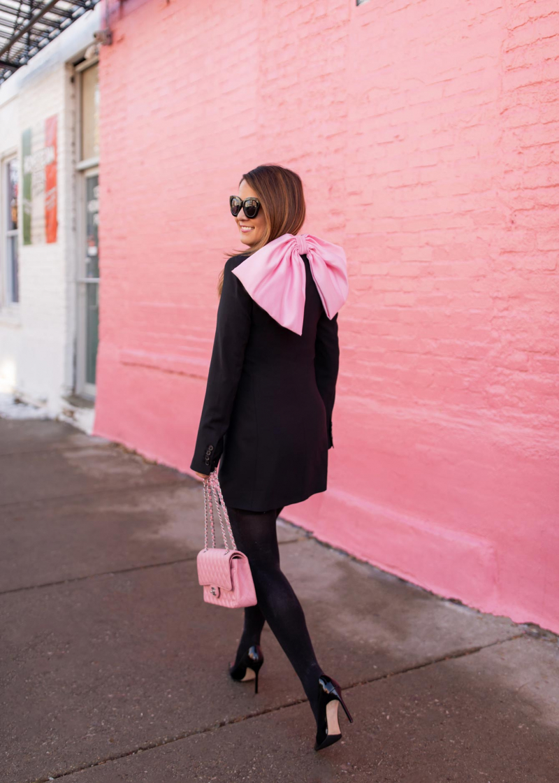 Zara Tuxedo Dress