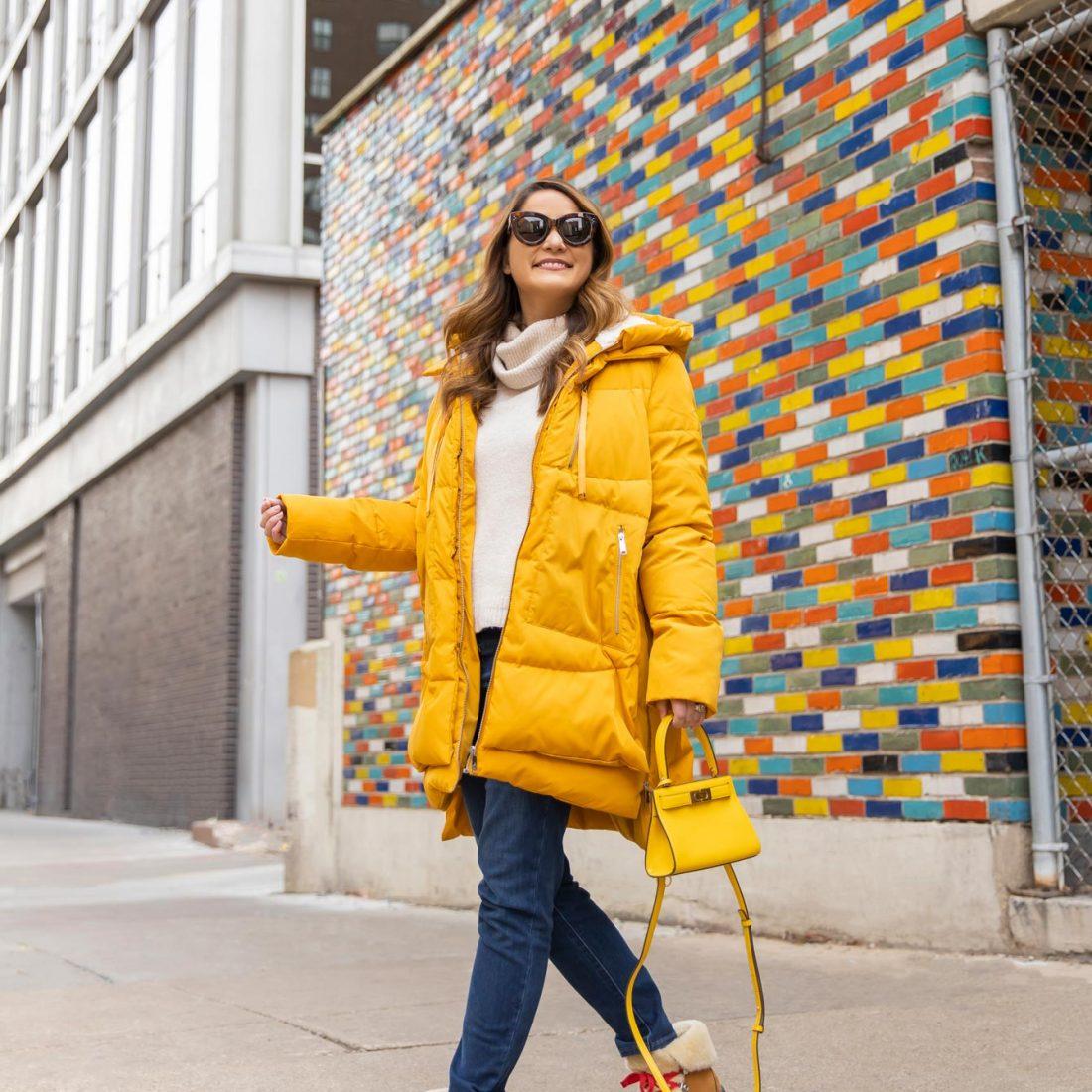 Jennifer Lake Sam Edelman Yellow Jacket