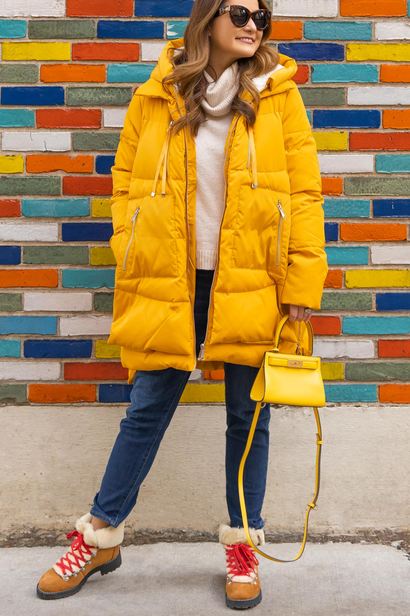 Jennifer Lake Yellow Parka