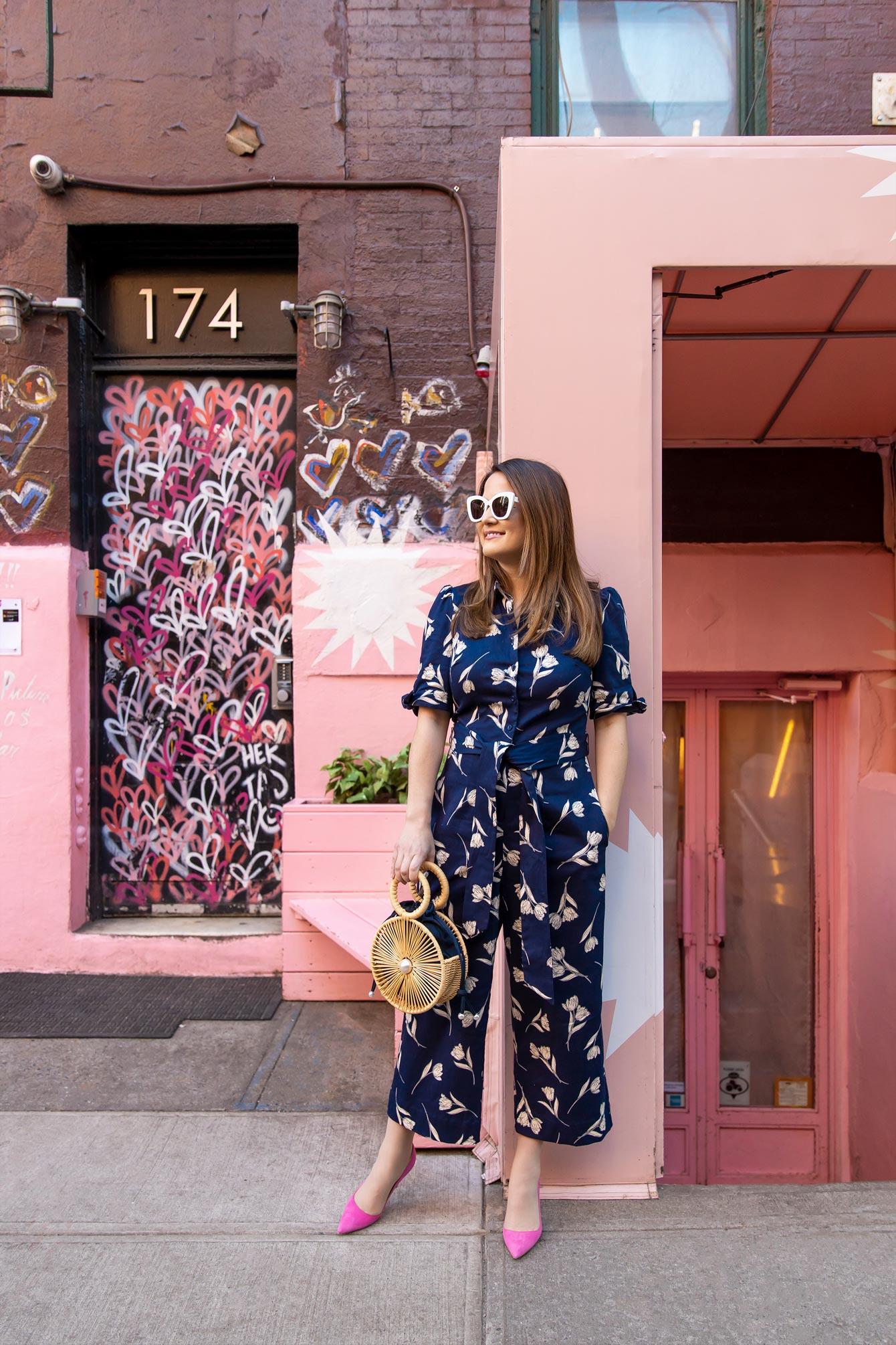 Pink Wall New York City