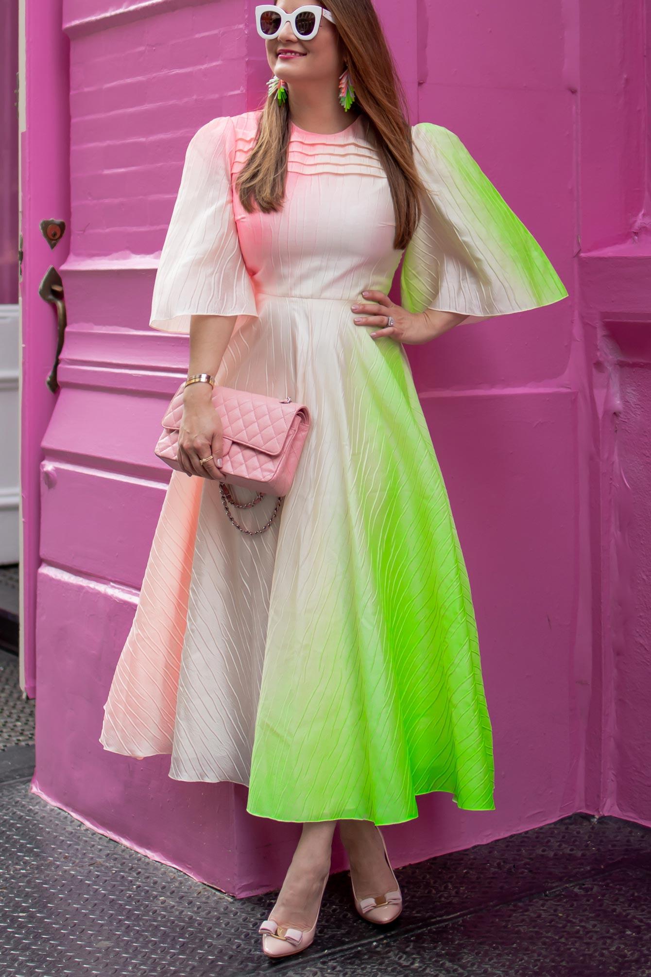 Roksanda Ombre Midi Dress