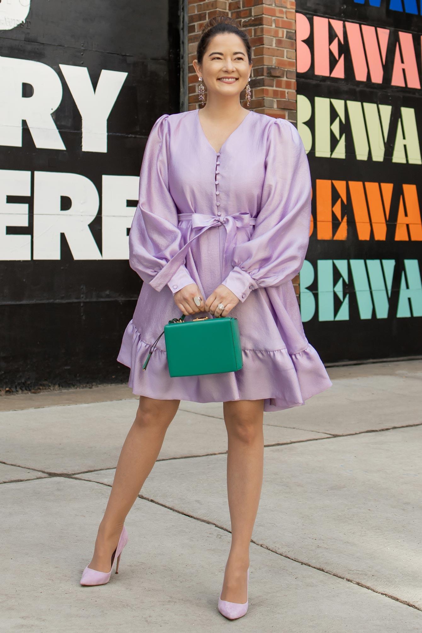 Stine Goya Lilac Dress