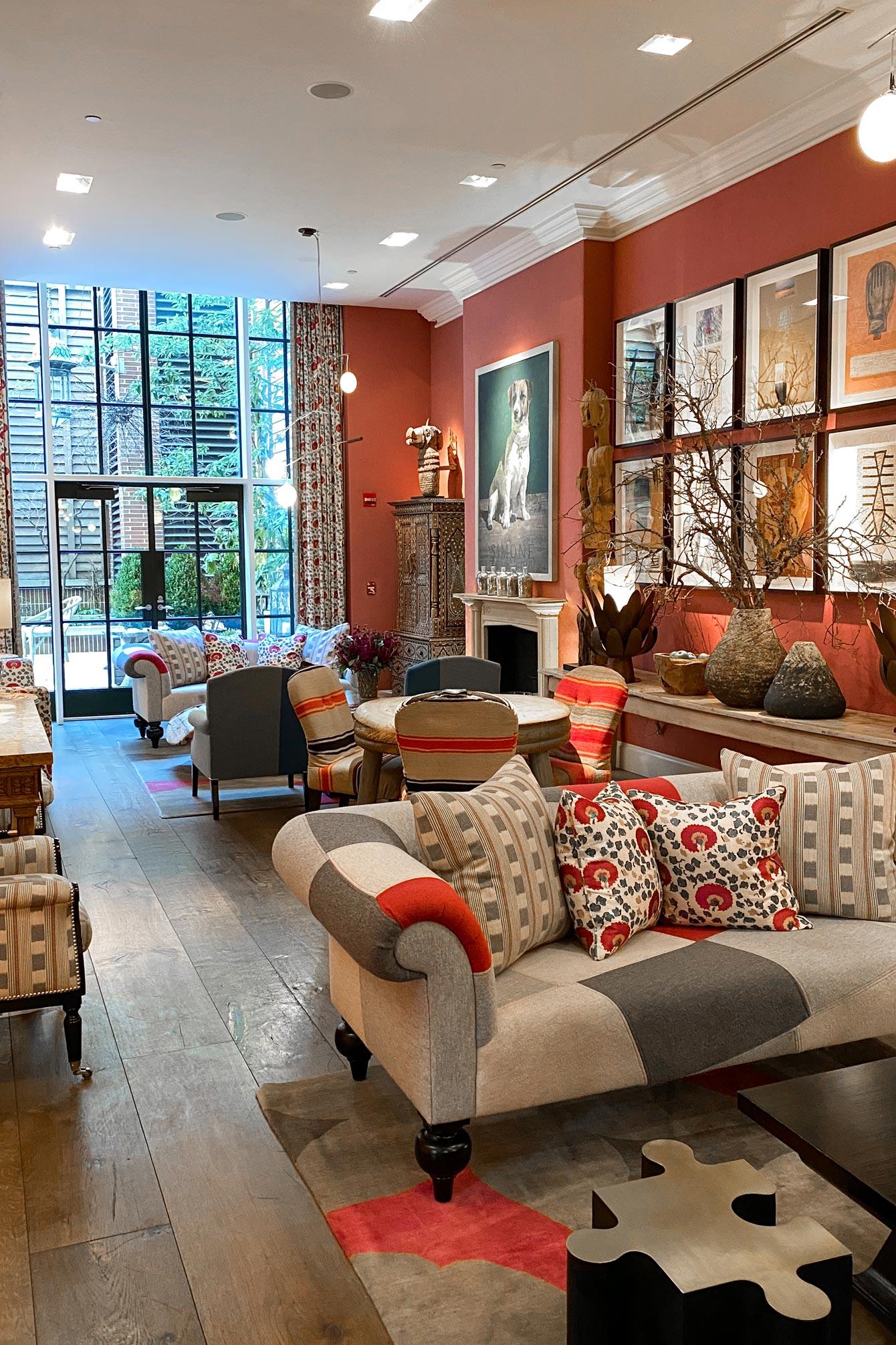 Crosby Street Hotel Drawing Room