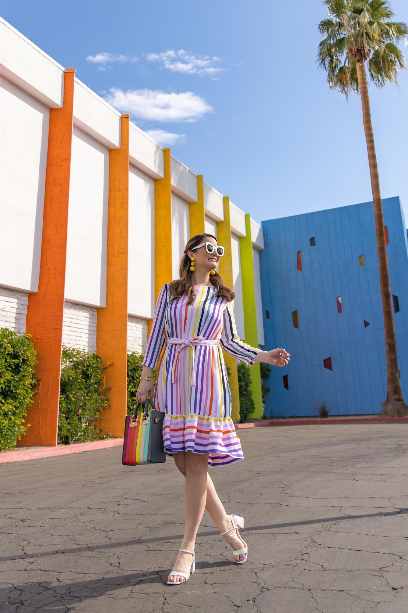 Jennifer Lake Persifor Poppy Rainbow Dress