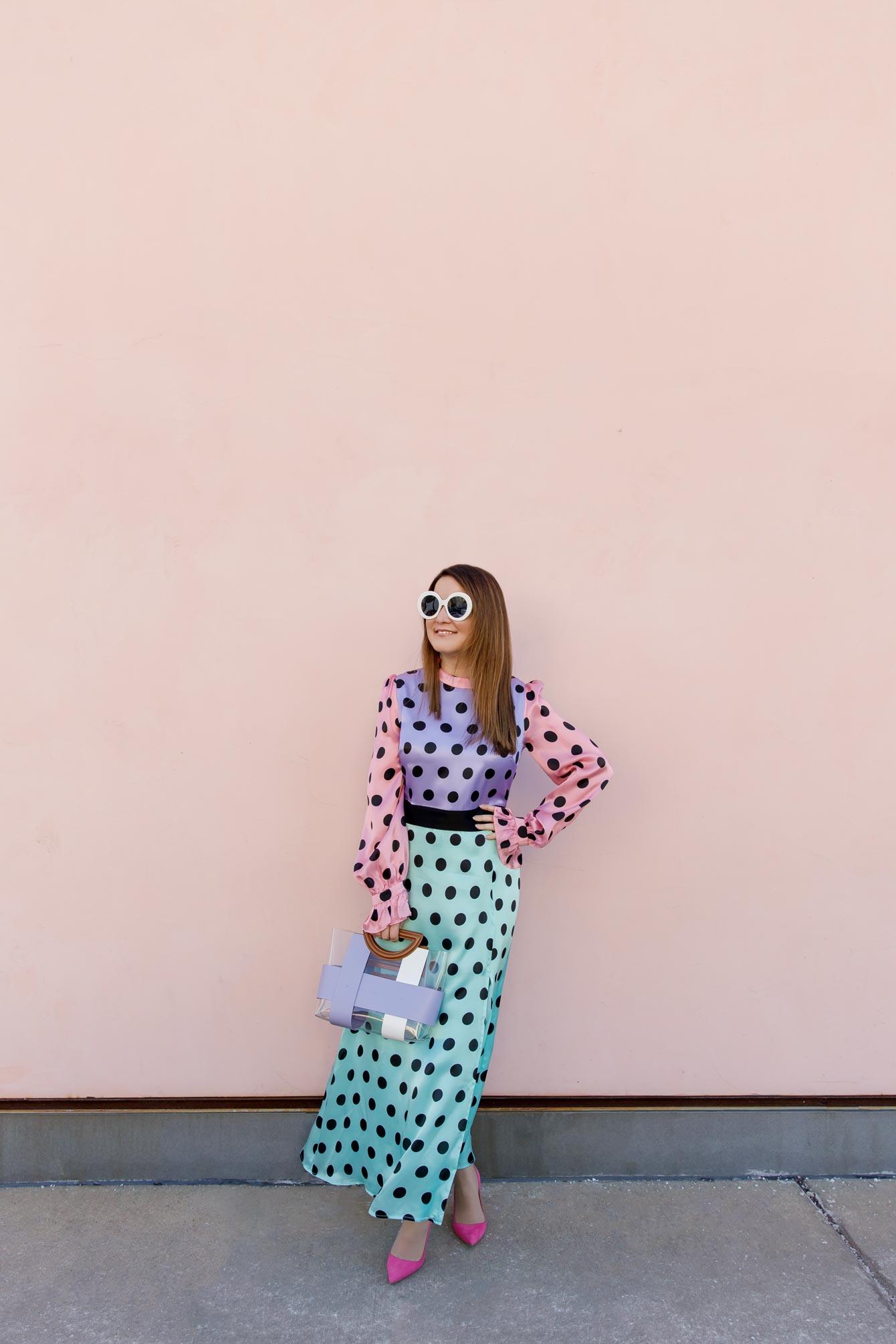 Jennifer Lake Pink Wall