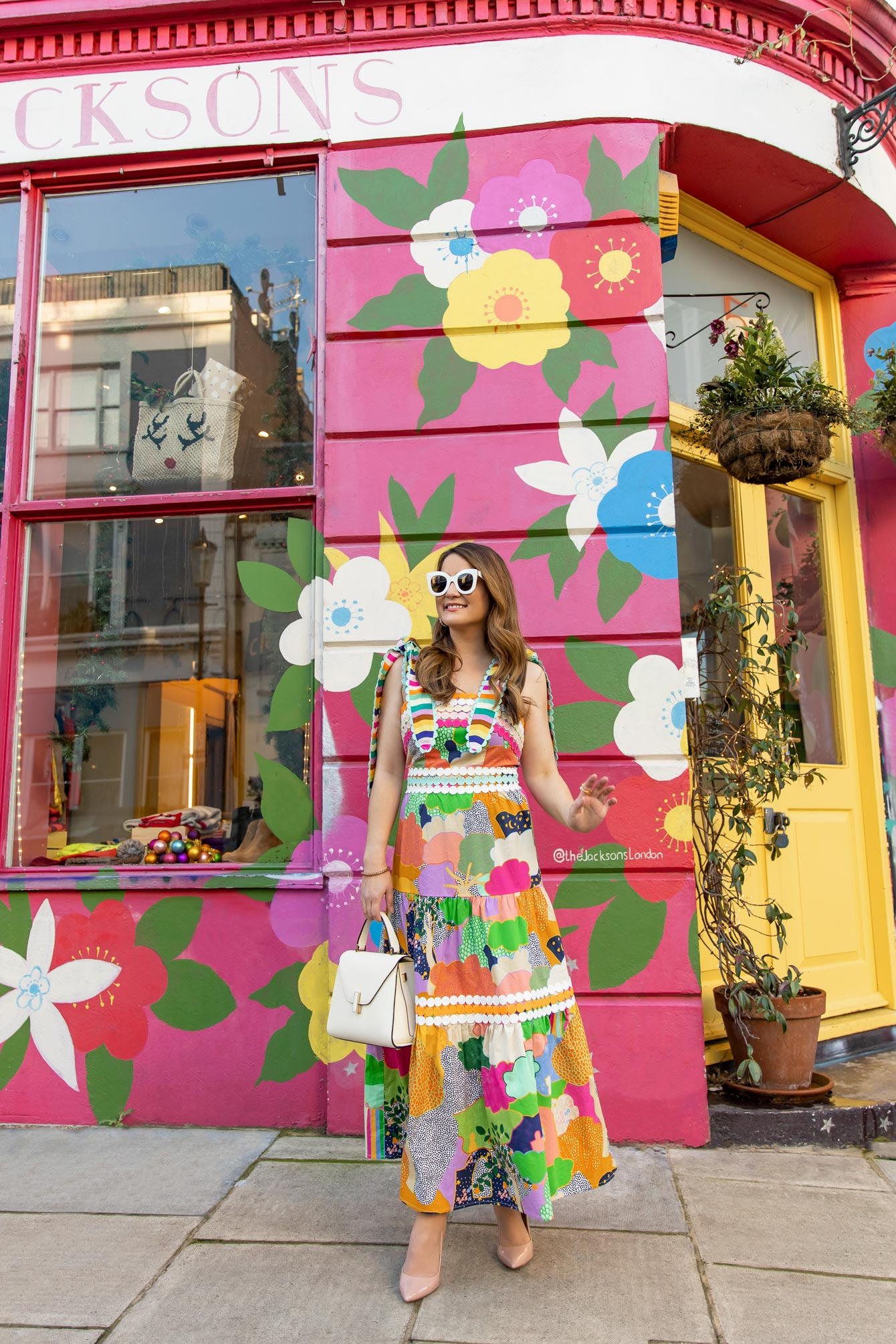 Notting Hill London Floral Mural