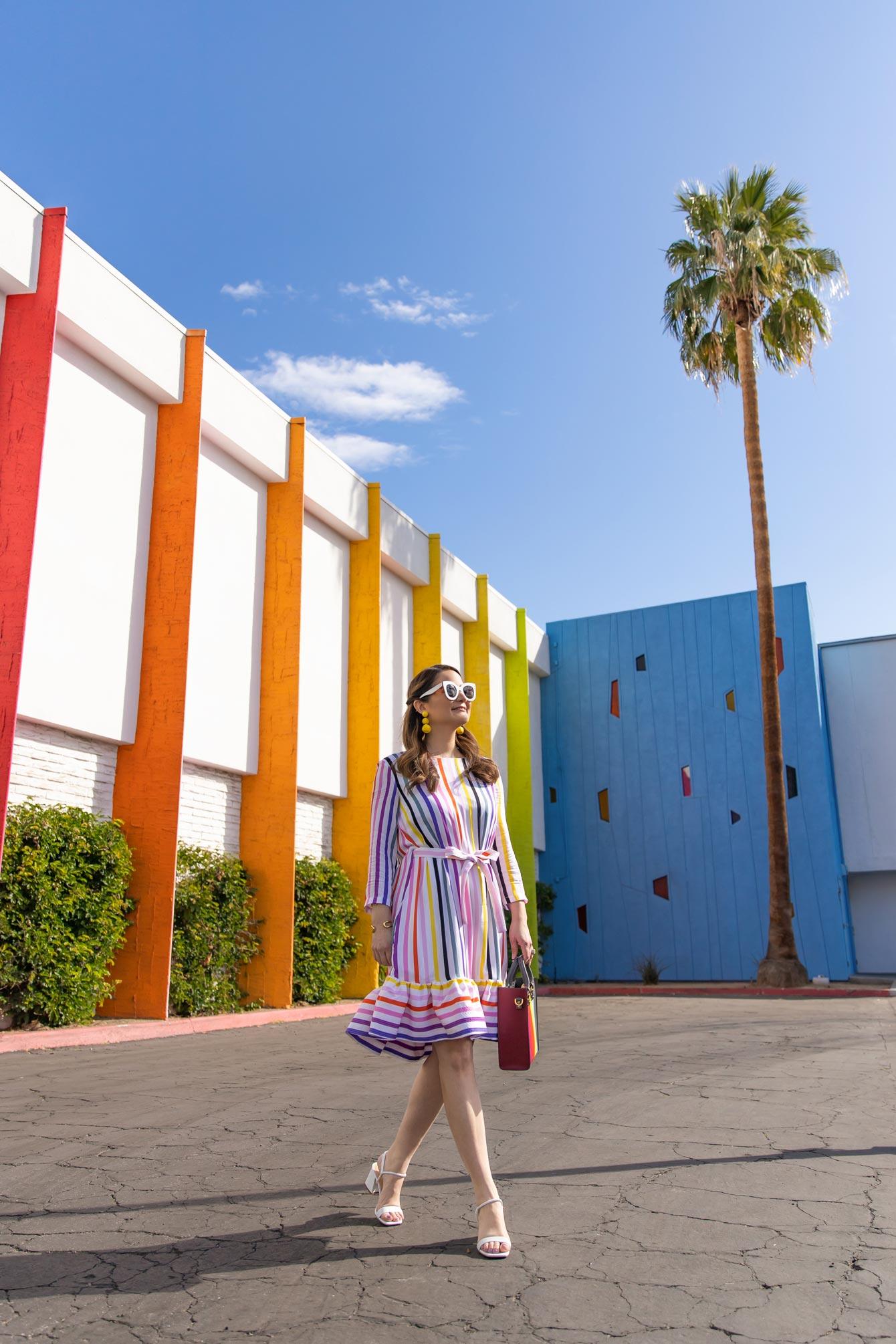 Palm Springs Rainbow Building