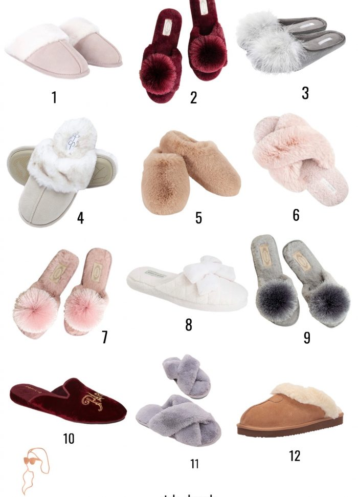 The Best Affordable House Slippers // All Under $40!