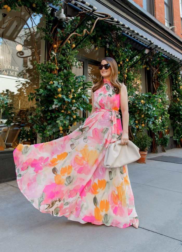 The Best Floral Maxi Dress for Spring