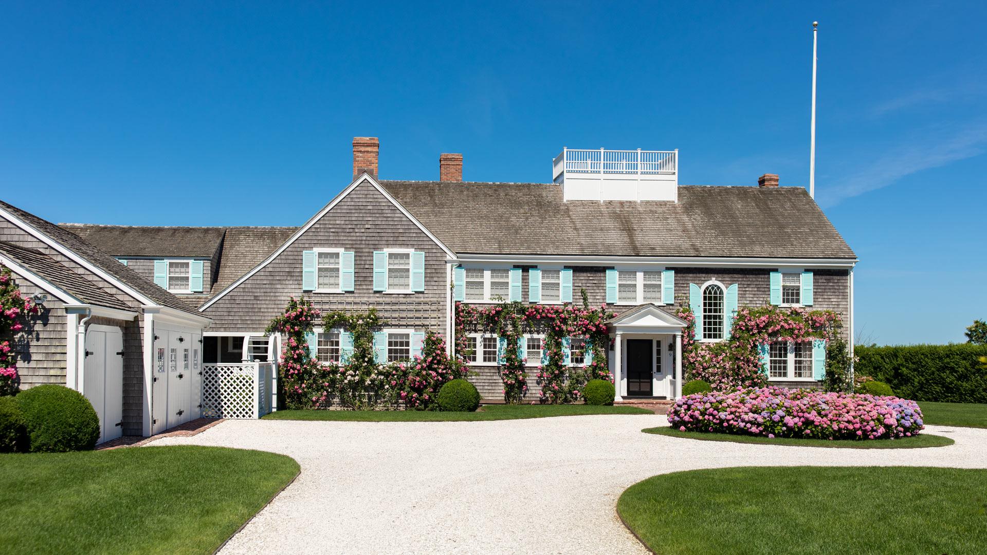 Jennifer Lake Free Zoom Backgrounds Nantucket Turquoise House
