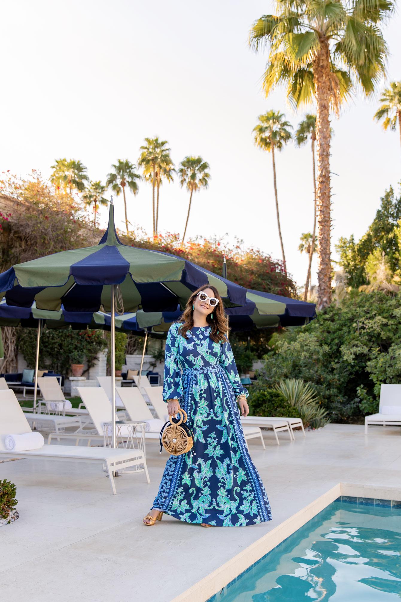 Jennifer Lake Lilly Pulitzer Palm Springs