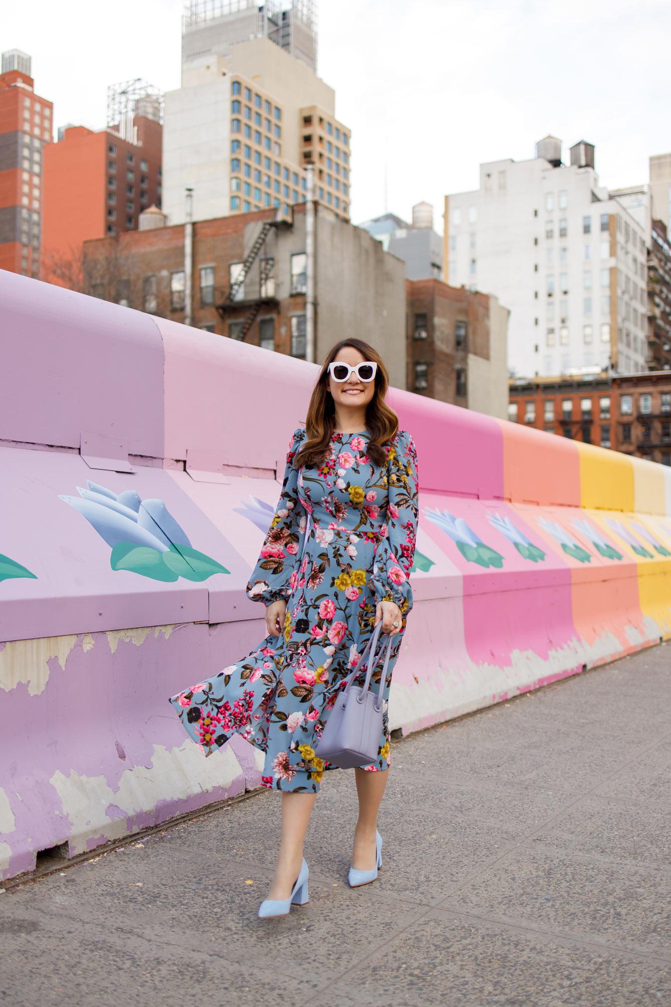 Jennifer Lake Nordstrom Floral Dress