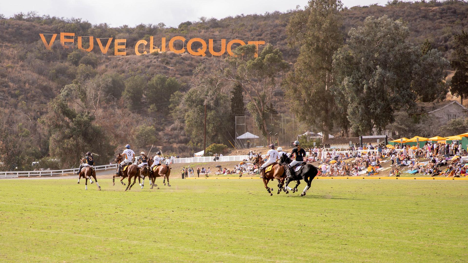 Jennifer Lake Zoom Background Veuve Clicquot Polo Classic Los Angeles