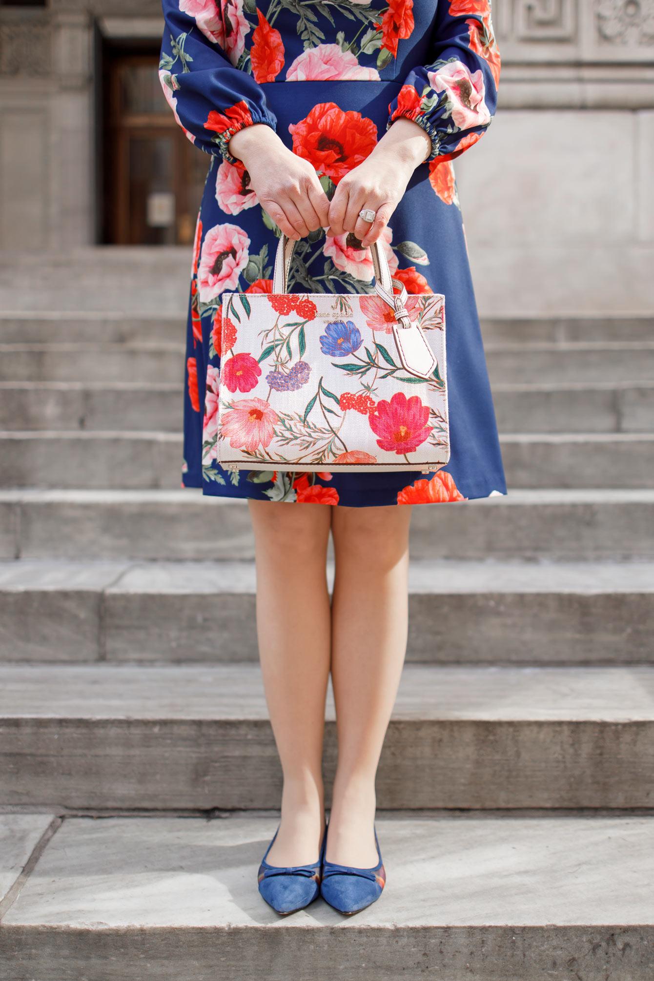 Kate Spade Floral Sam Bag