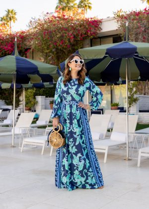 Spreading Sunshine and the Lilly Pulitzer Micole Maxi